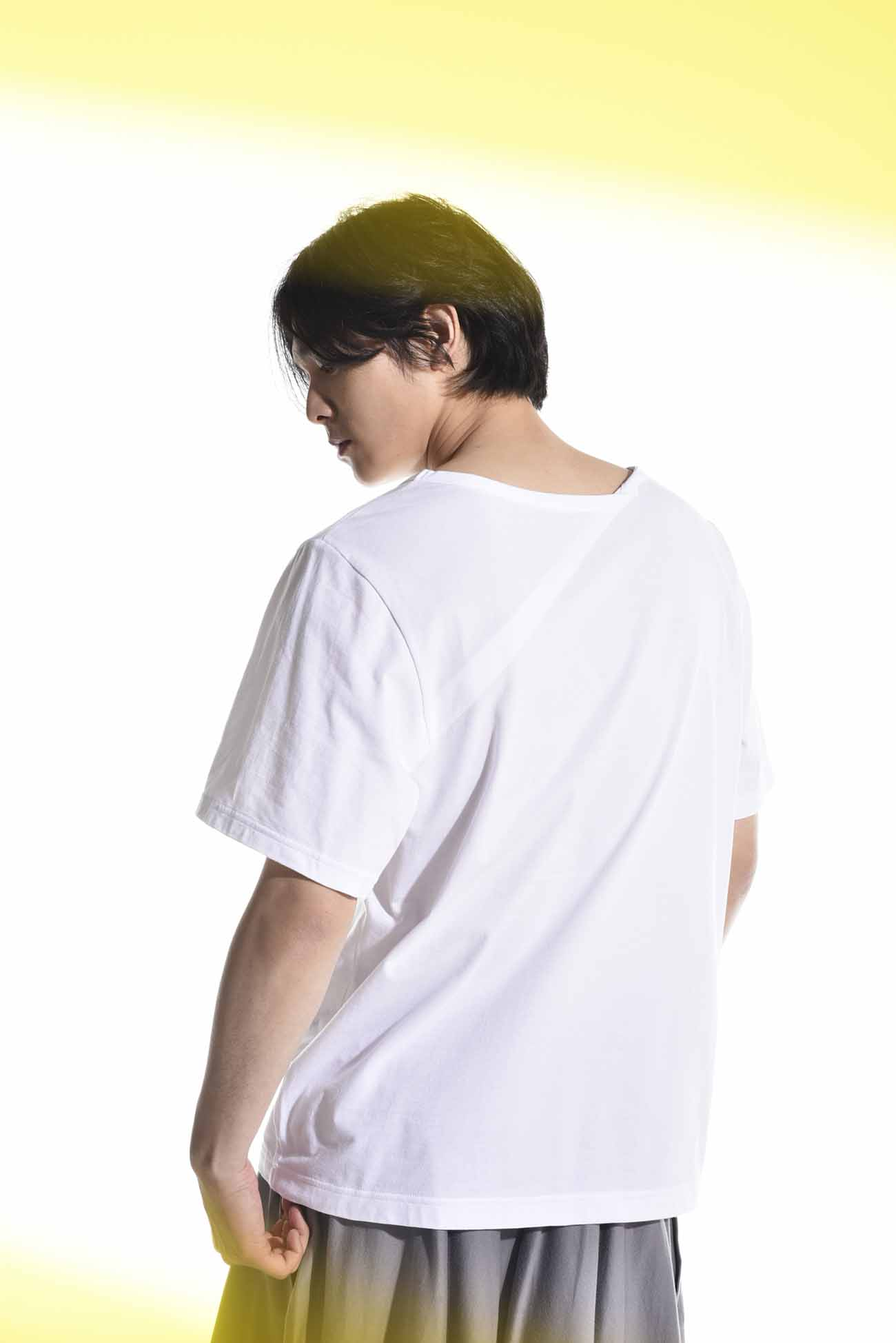 30/cotton Jersey Back Tuck Cut Sew