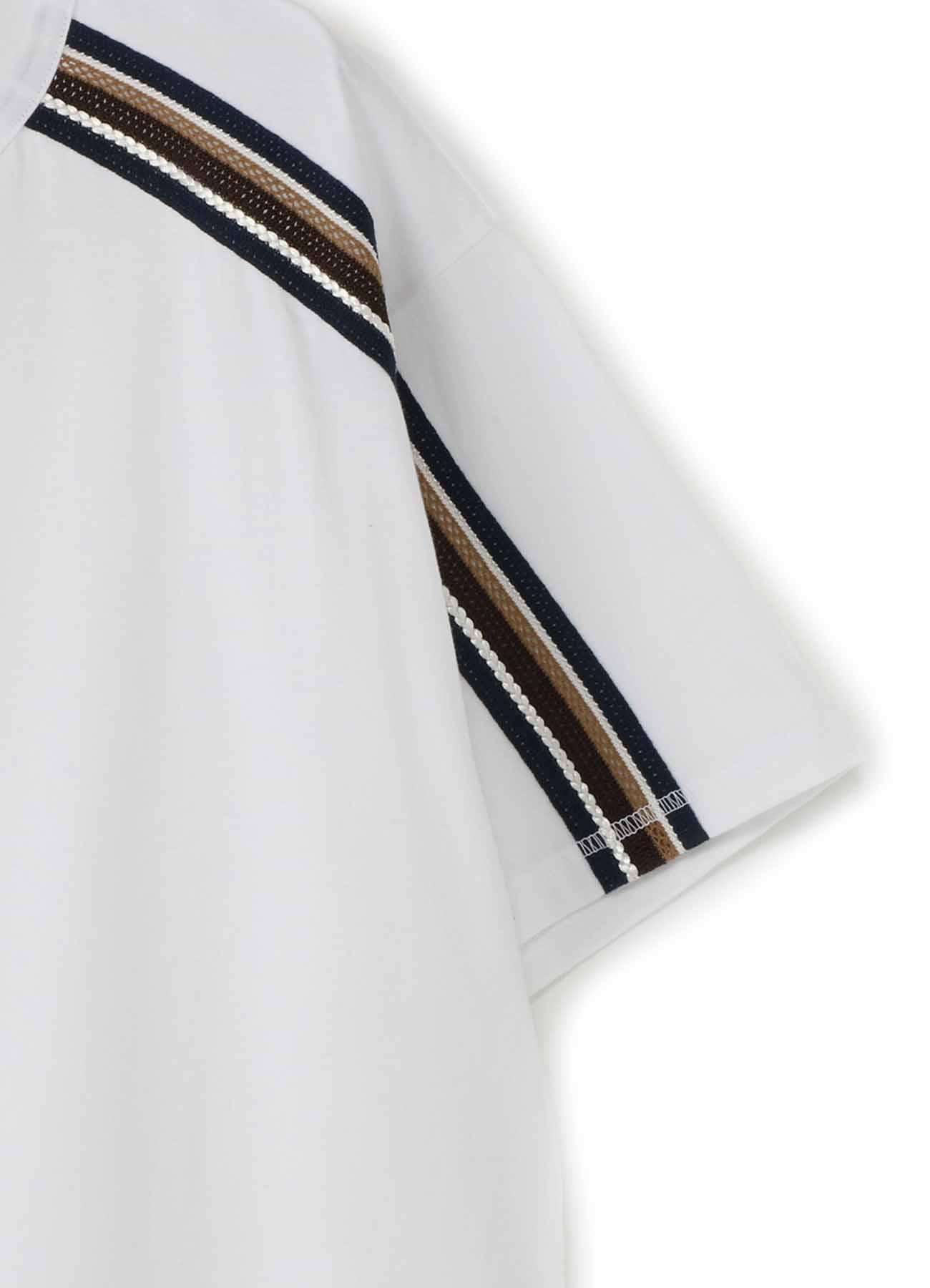 30/cotton Jersey Original tape Round Short Sleeves Cut Sew