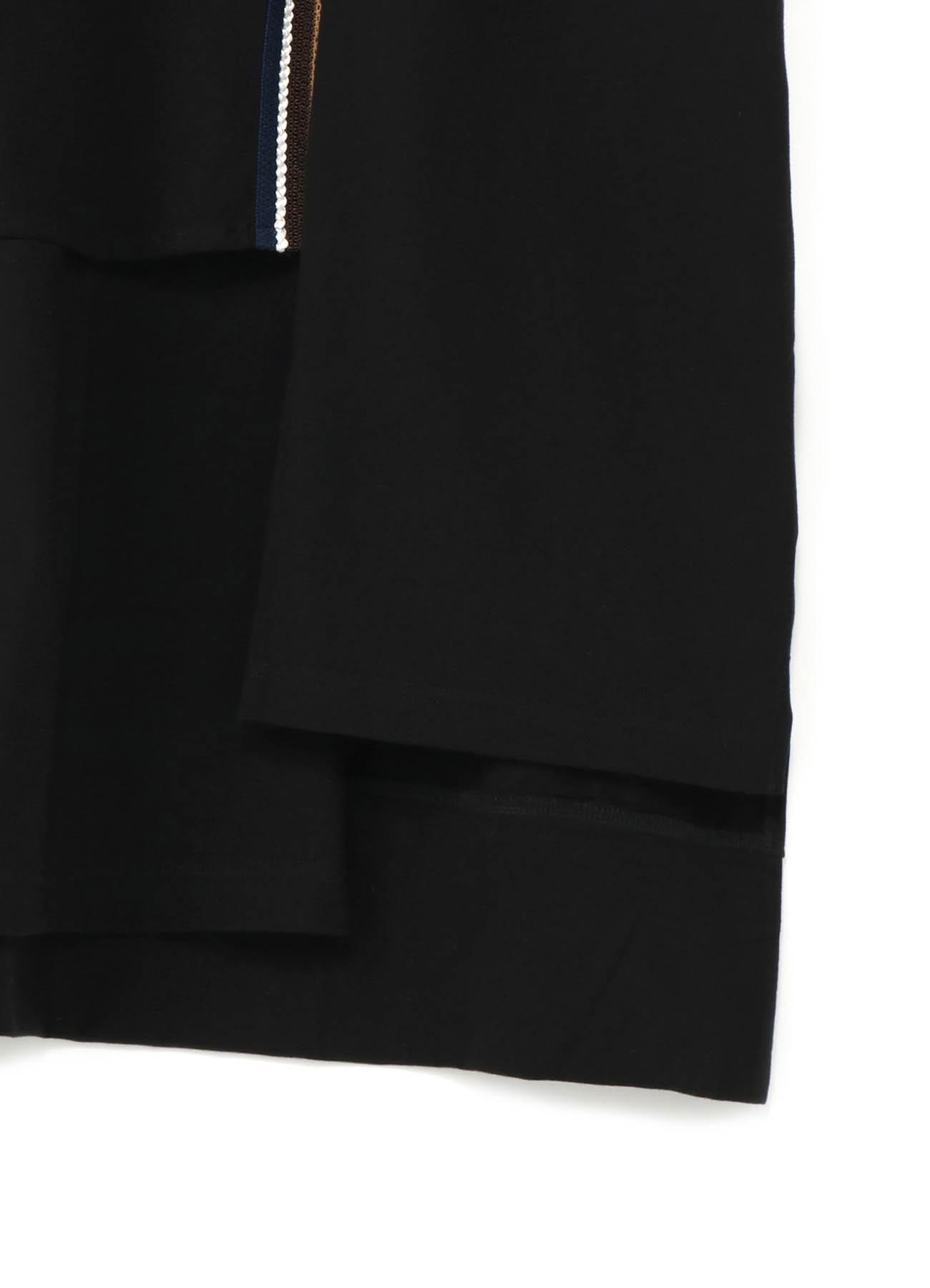 30/cotton Jersey Original tape Snap slit Short Cut Sew