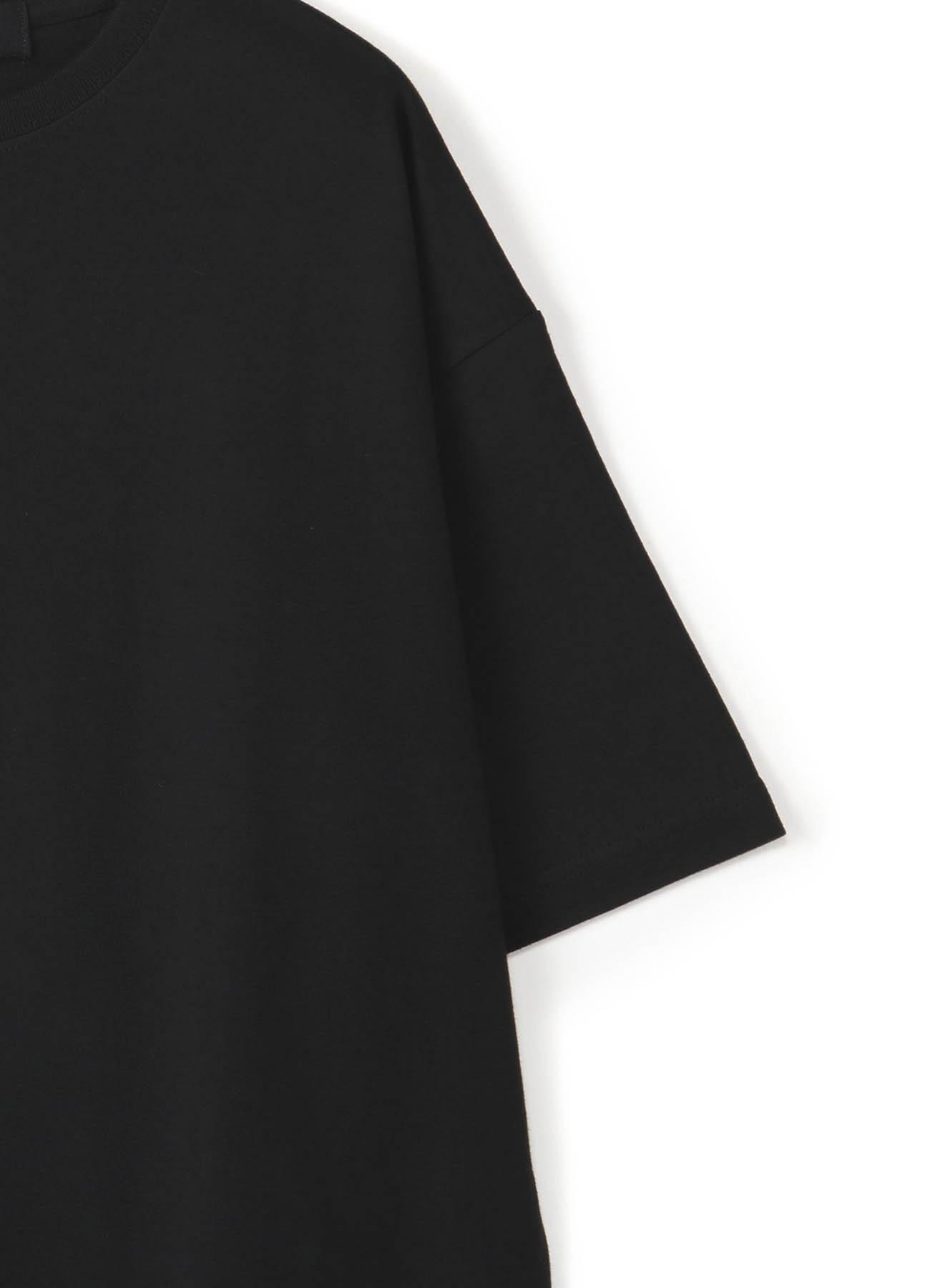 """""""胶带""""装饰宽松T恤-C"""