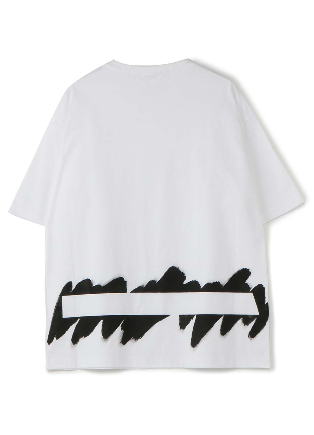 Painted 5.6oz cotton Jersey Painted Big T-Shirt B