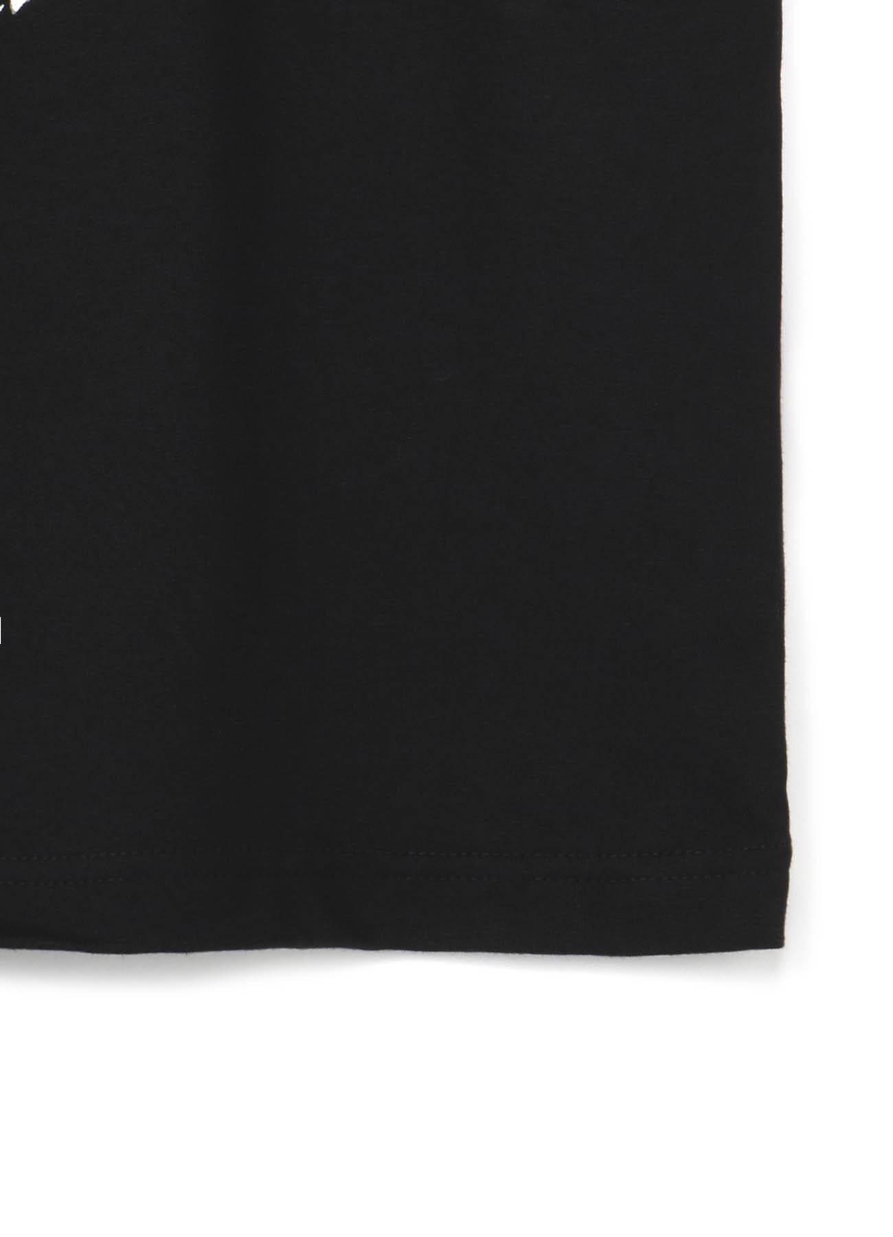 "GroundY × 河锅晓斎 ""西洋道中膝栗毛骨""第十三篇联名款T恤"