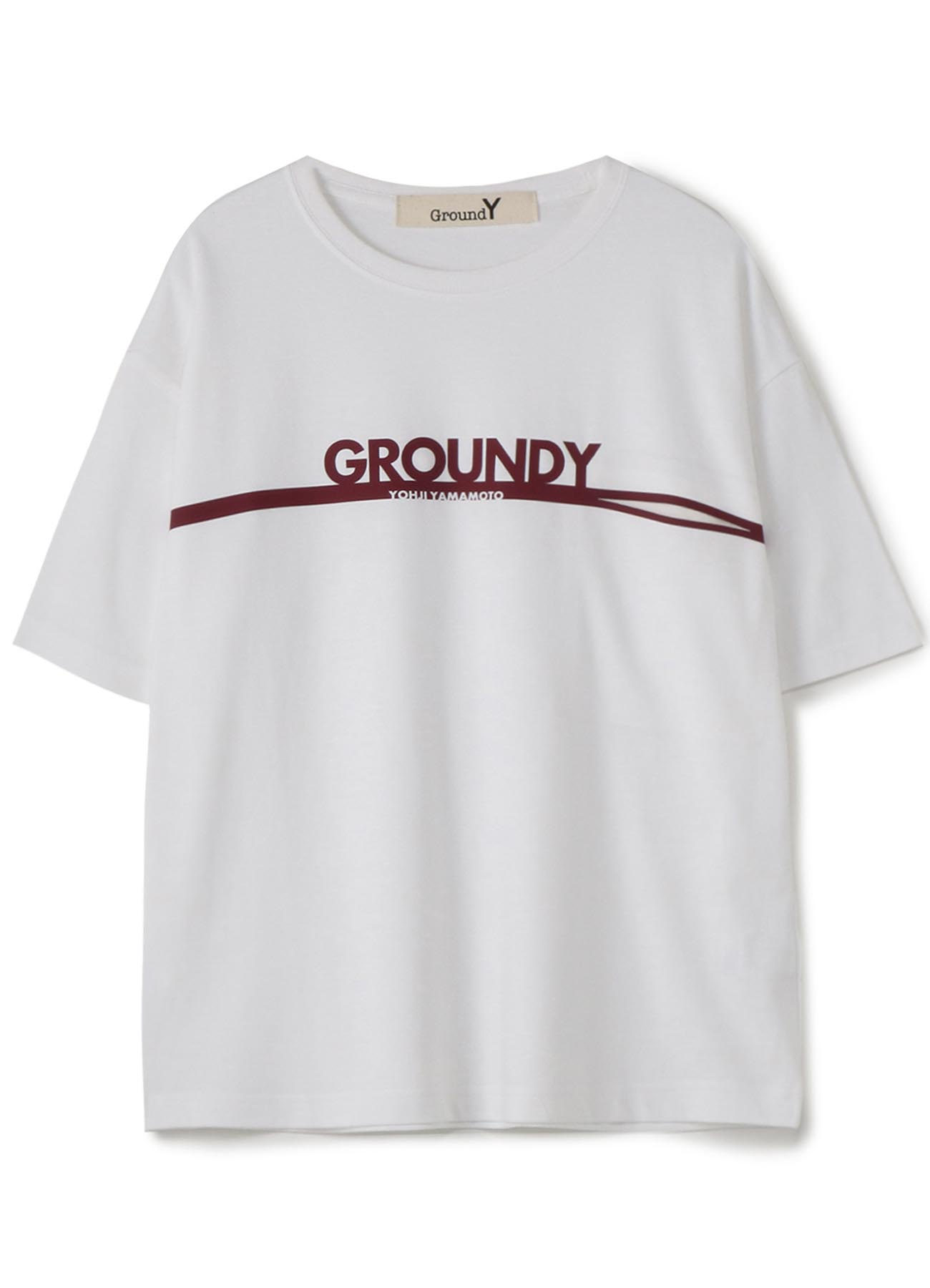 Ground Y&YOHJI YAMAMAOTO Logo Pocket Tshirt