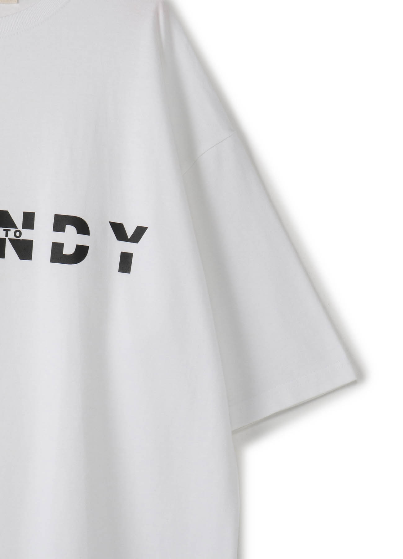 Ground Y&YOHJI YMAMAOTO Logo Tshirt