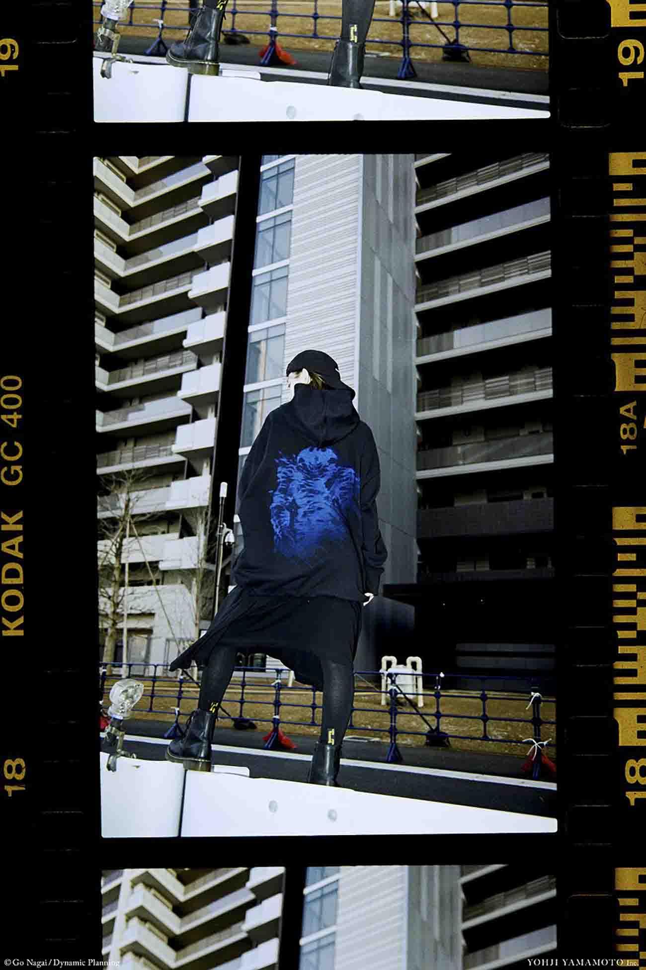 DEVILMAN-デビルマン- Collaboration Short Hoodie