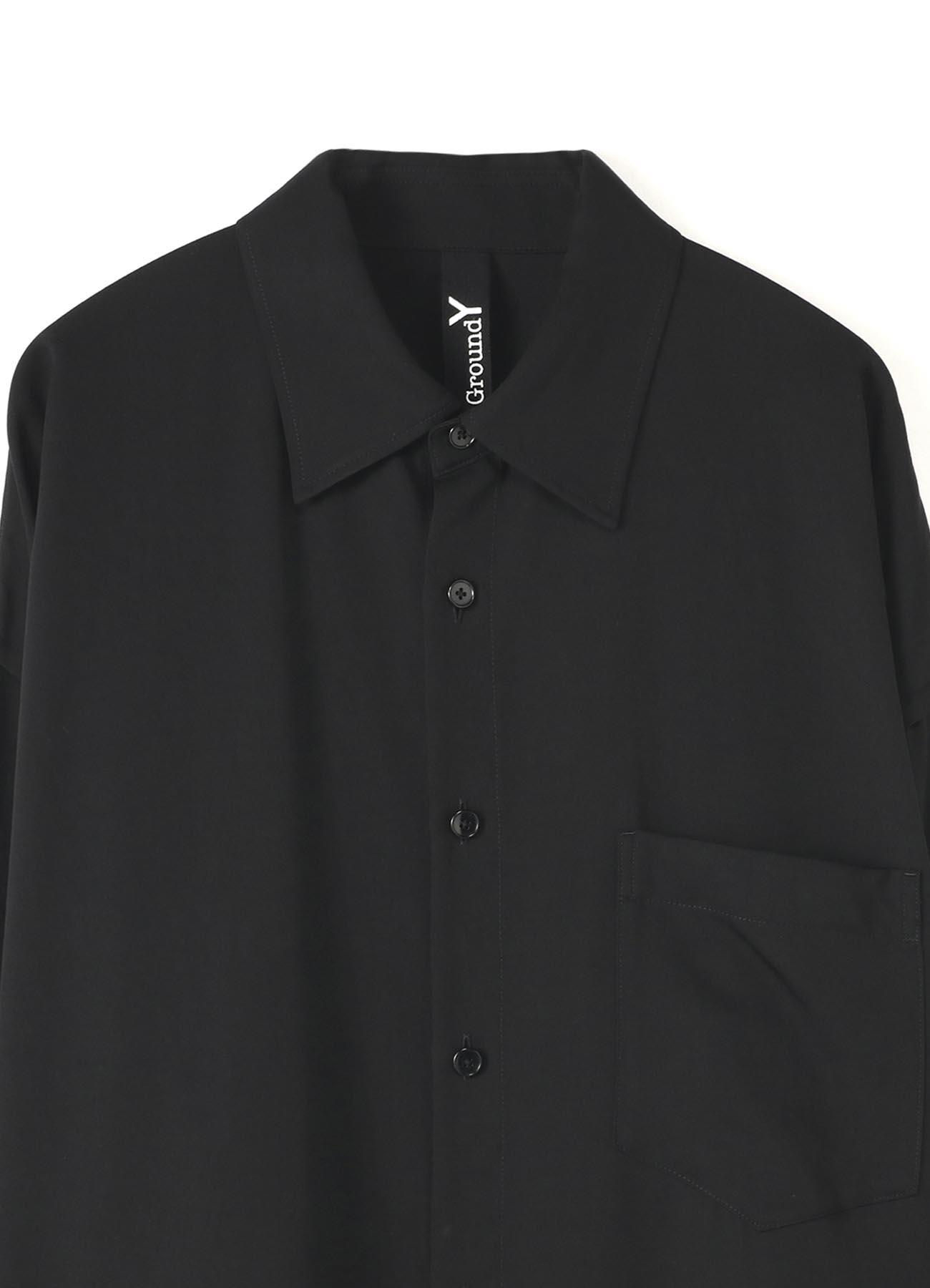 TE/Burberry French Seam Semi Long Shirt