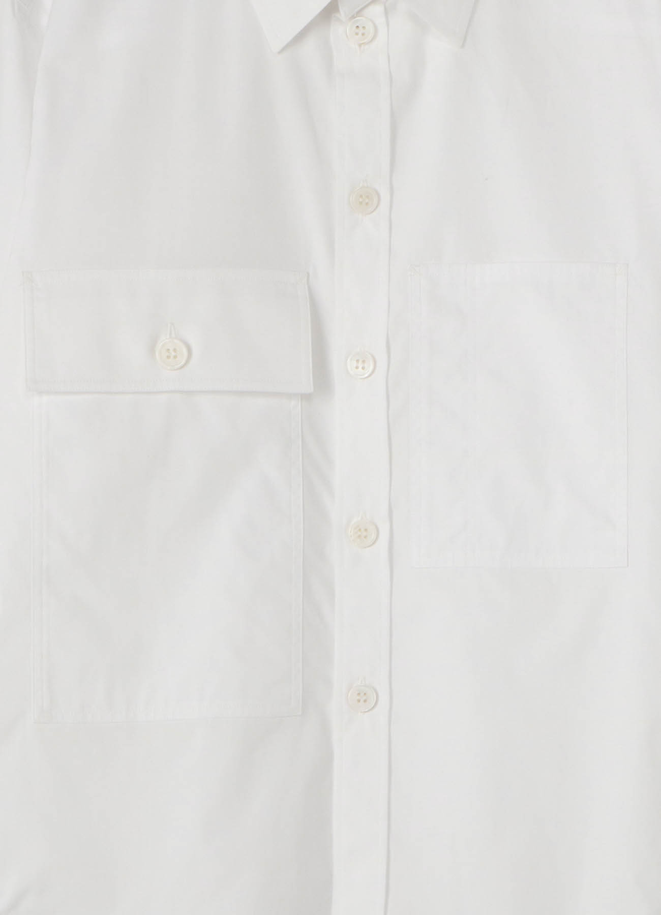 Cotton Broad Big Pocket Work Shirt