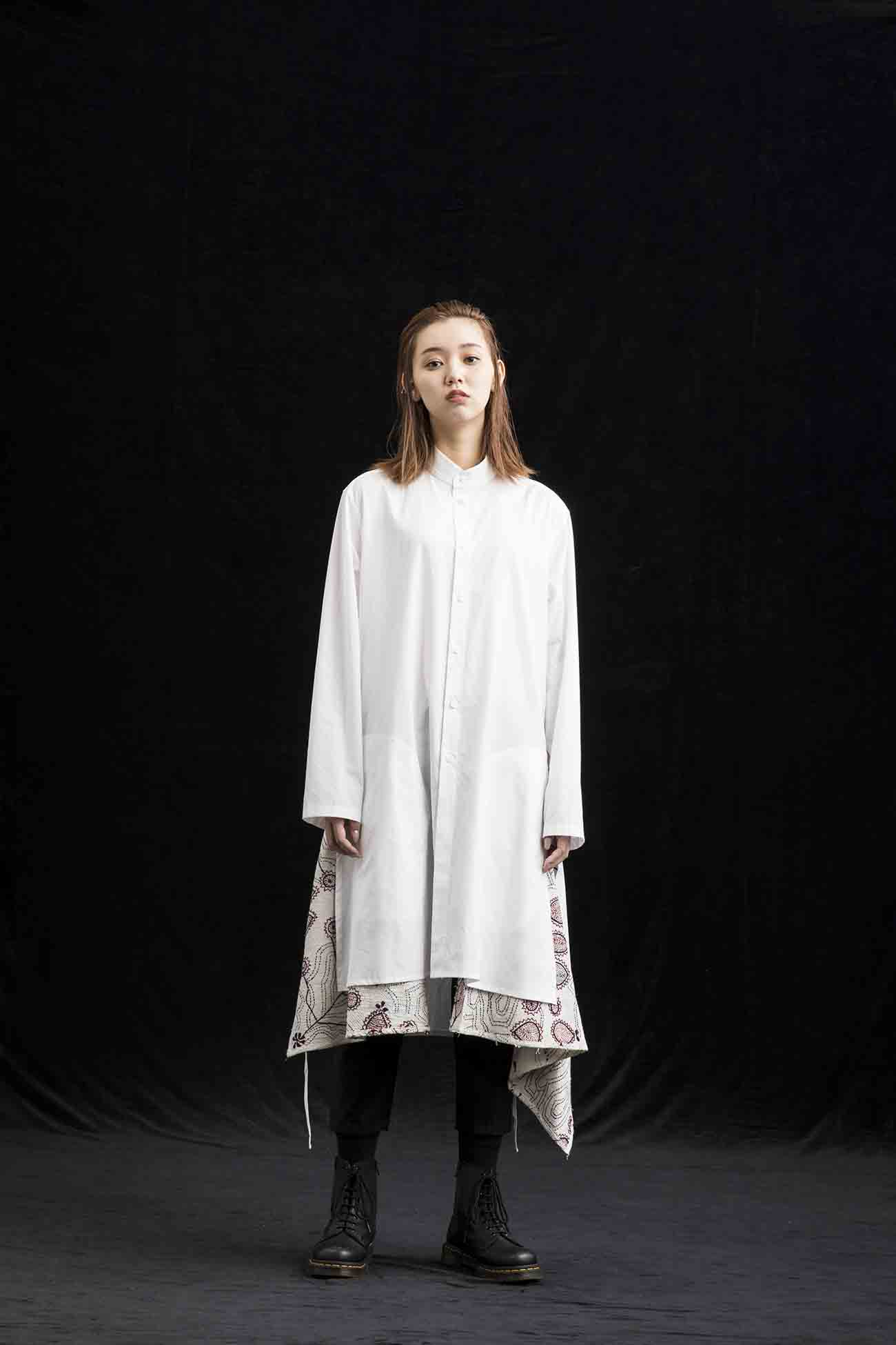 Indian Embroidery Big Sack Cloth Shirt