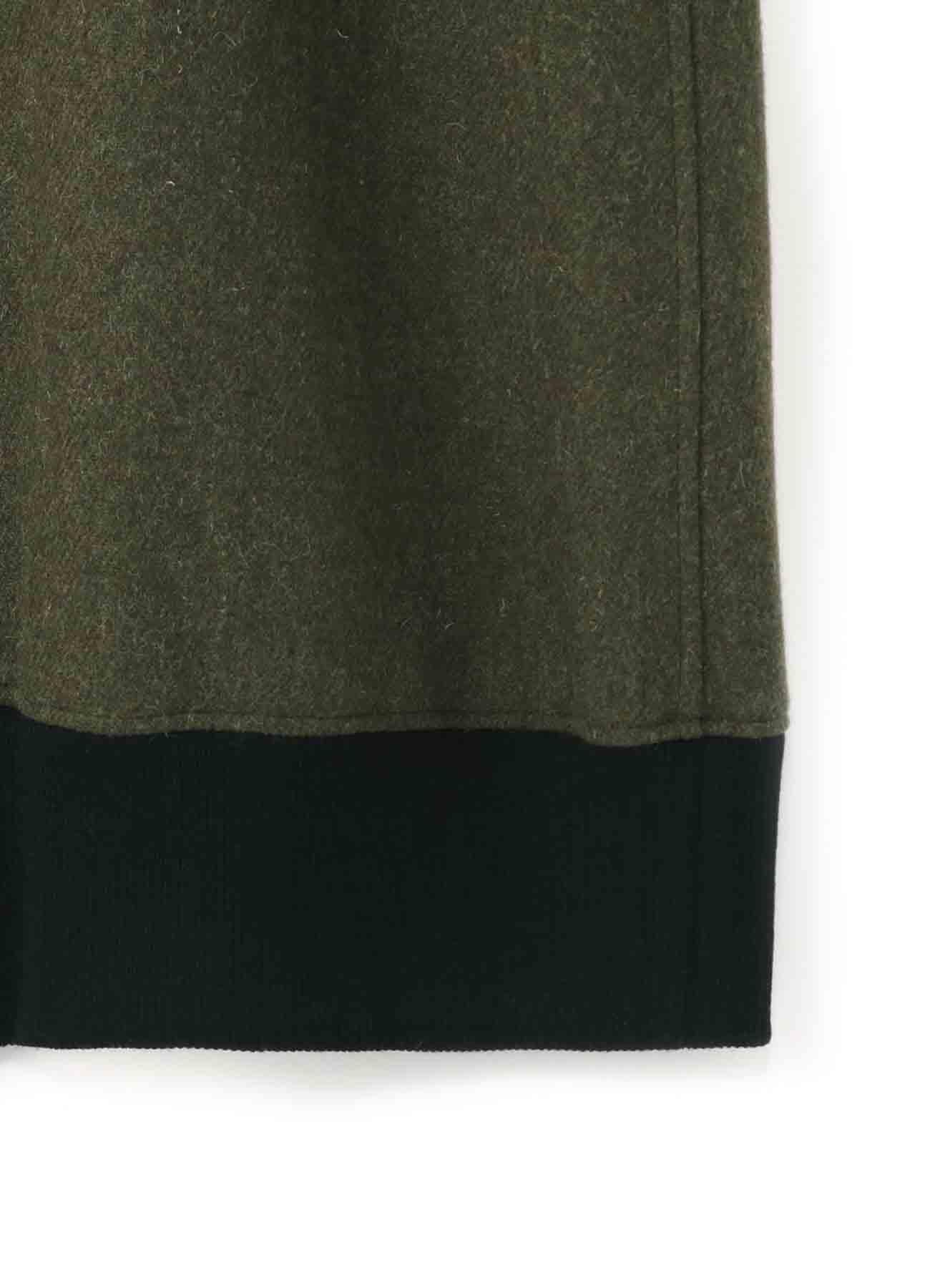 Twill Flannel Rib Long Shirt