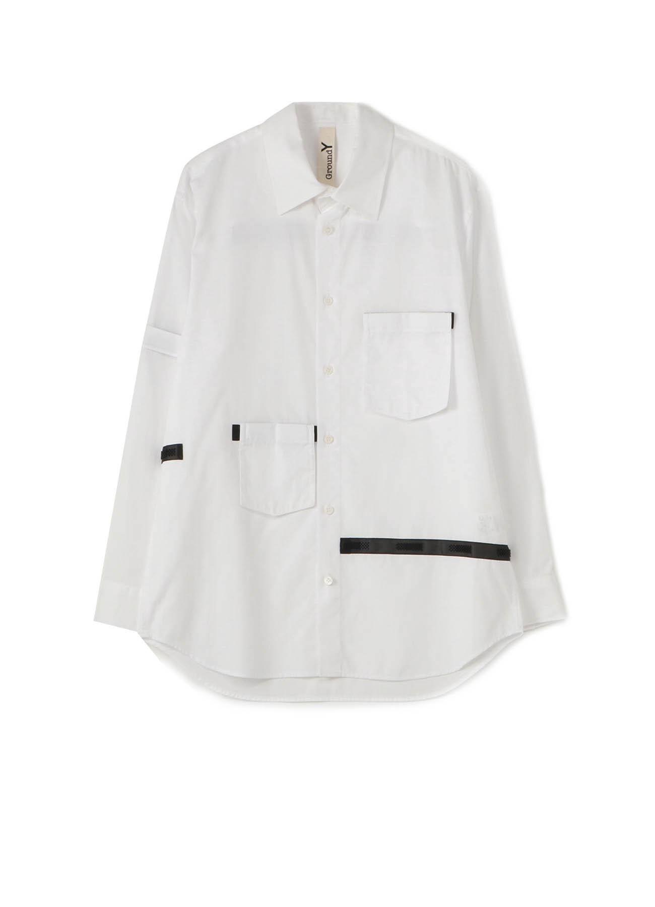 Cotton Broad Back Tape Shirt