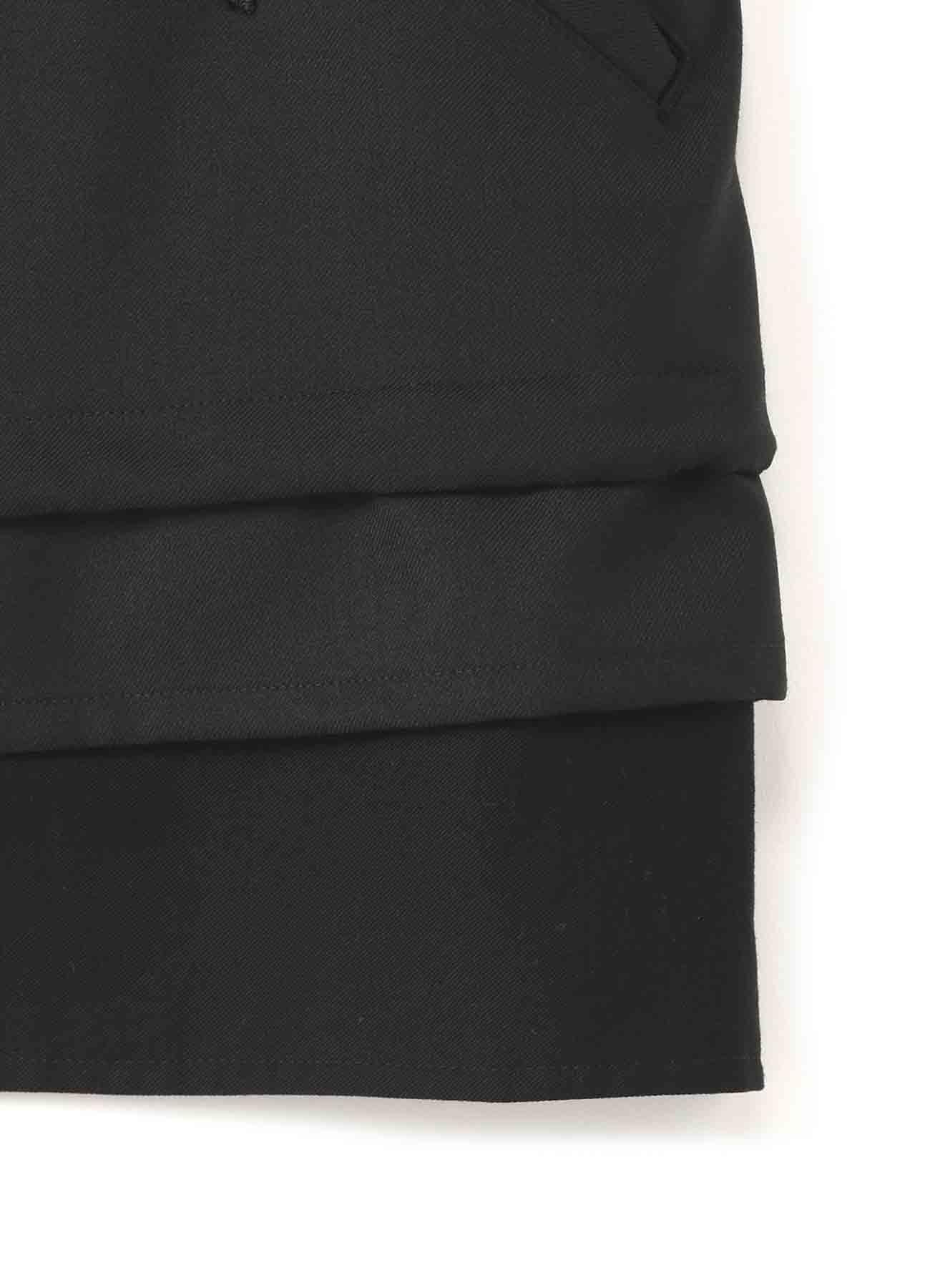 T/W Gabardine Sleeveless Work Jacket