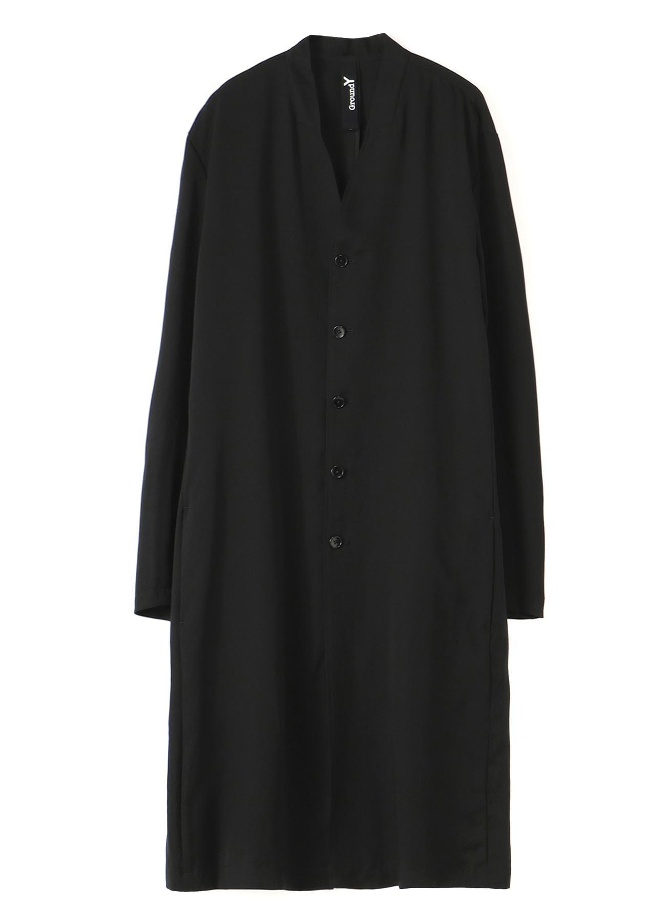 TE/Burberry No Collar Long Cardigan