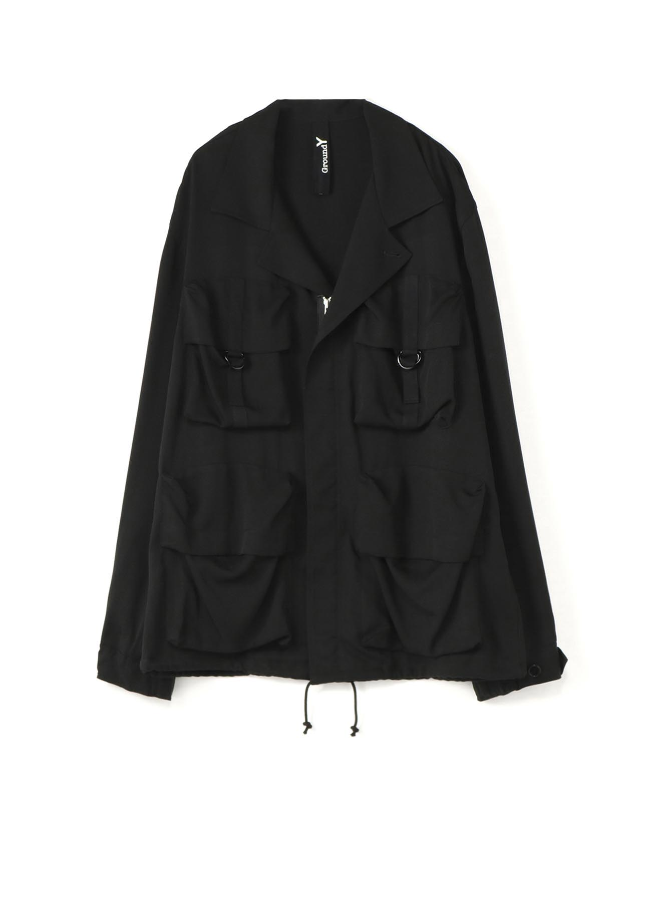 TE/Burberry Open Collar Pocket Blouson