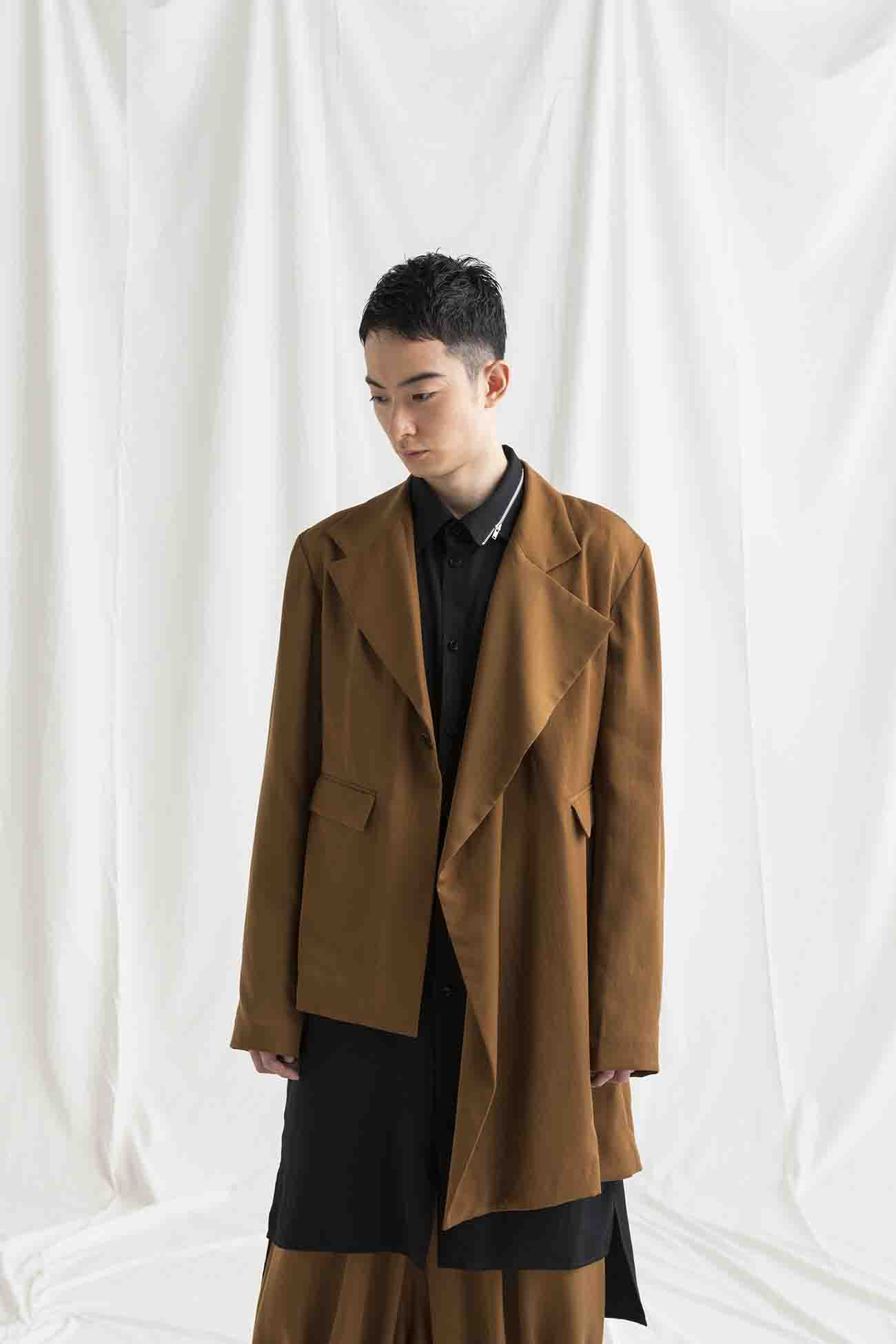 TE/Burberry Asymmetry Jacket