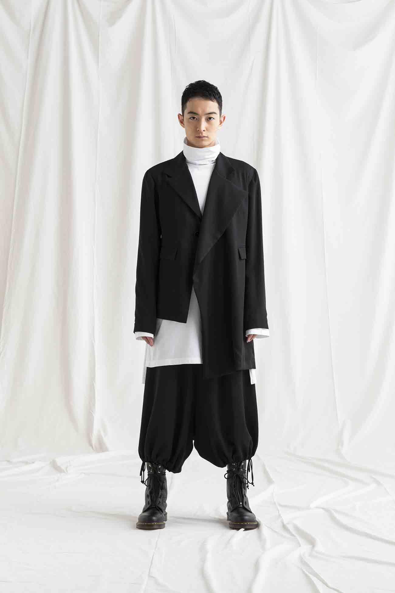 TE/Burberry Asymmetry Jacket