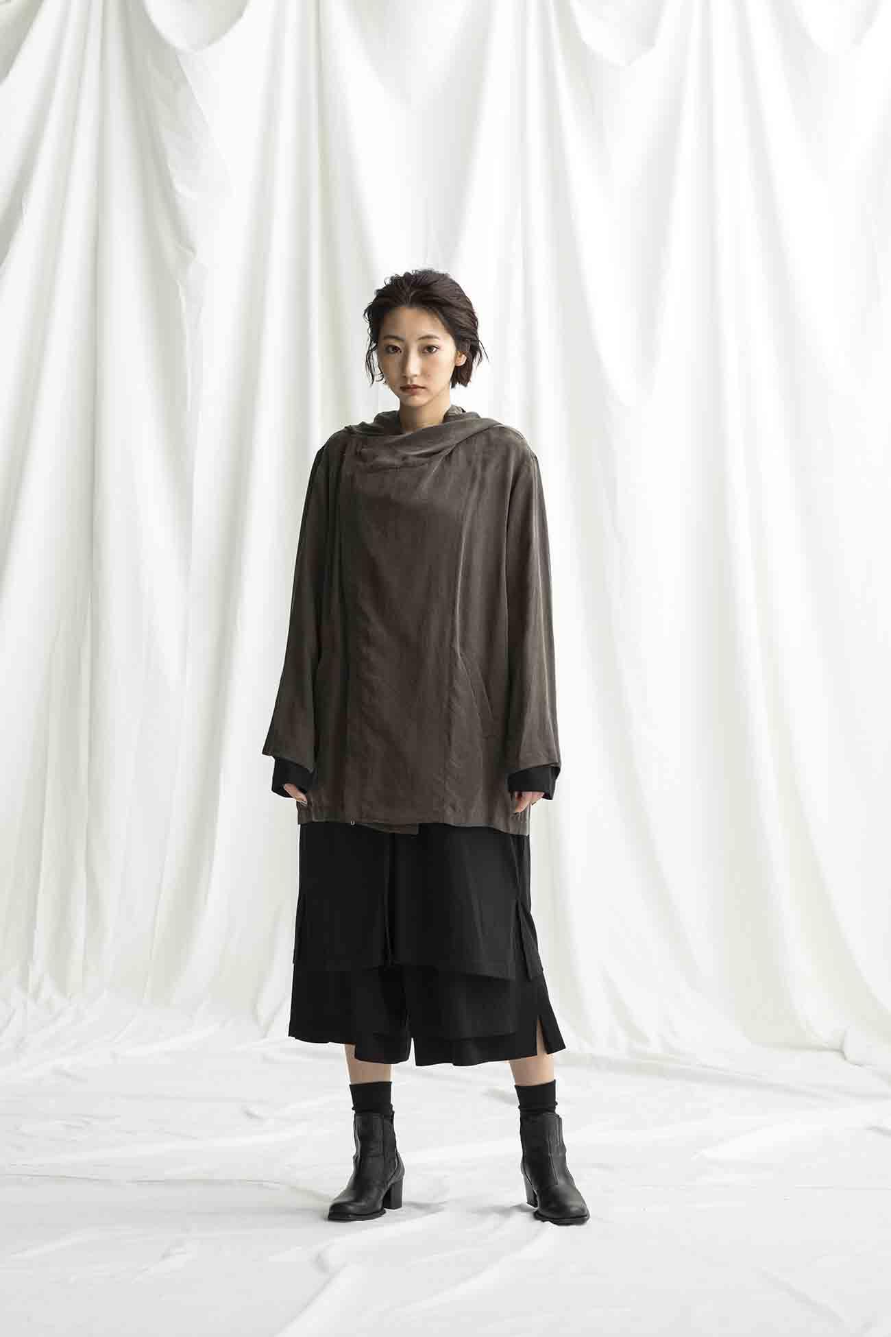 Cupra Wash Twill Double Hood Jacket