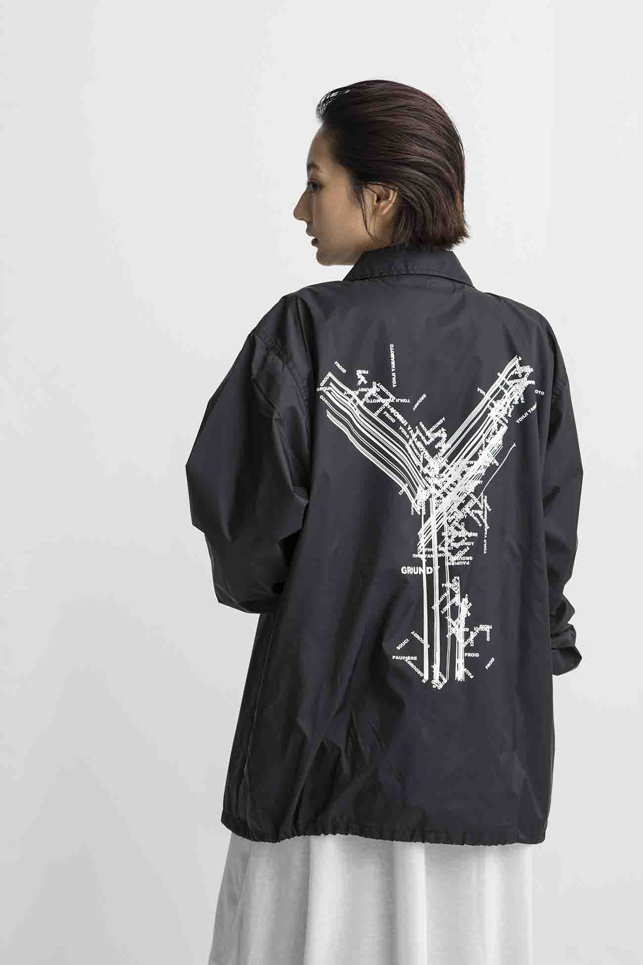 Random Logo Nylon Coach Jacket Type A