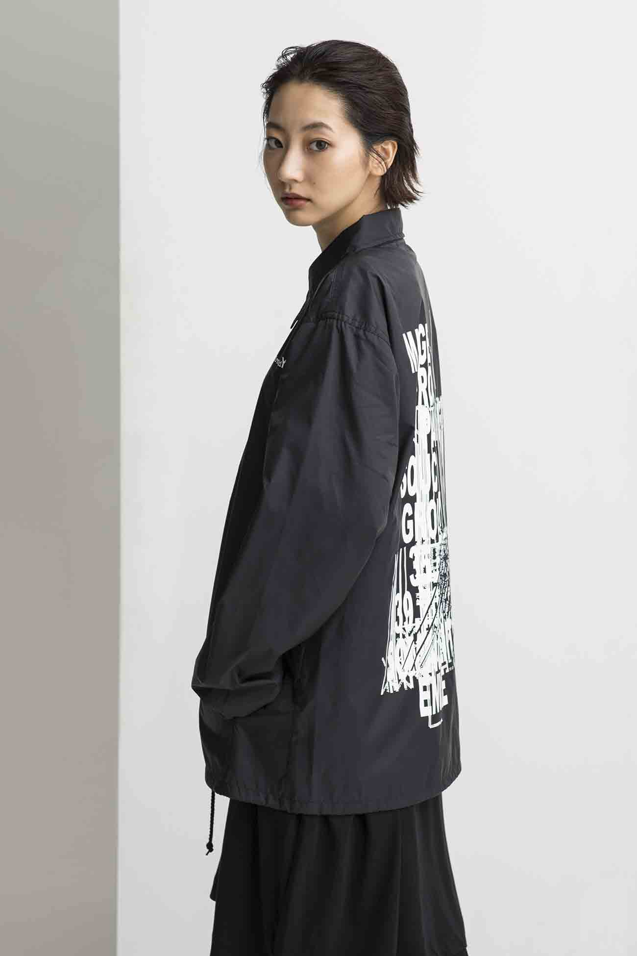 Random Logo Nylon Coach Jacket Type B