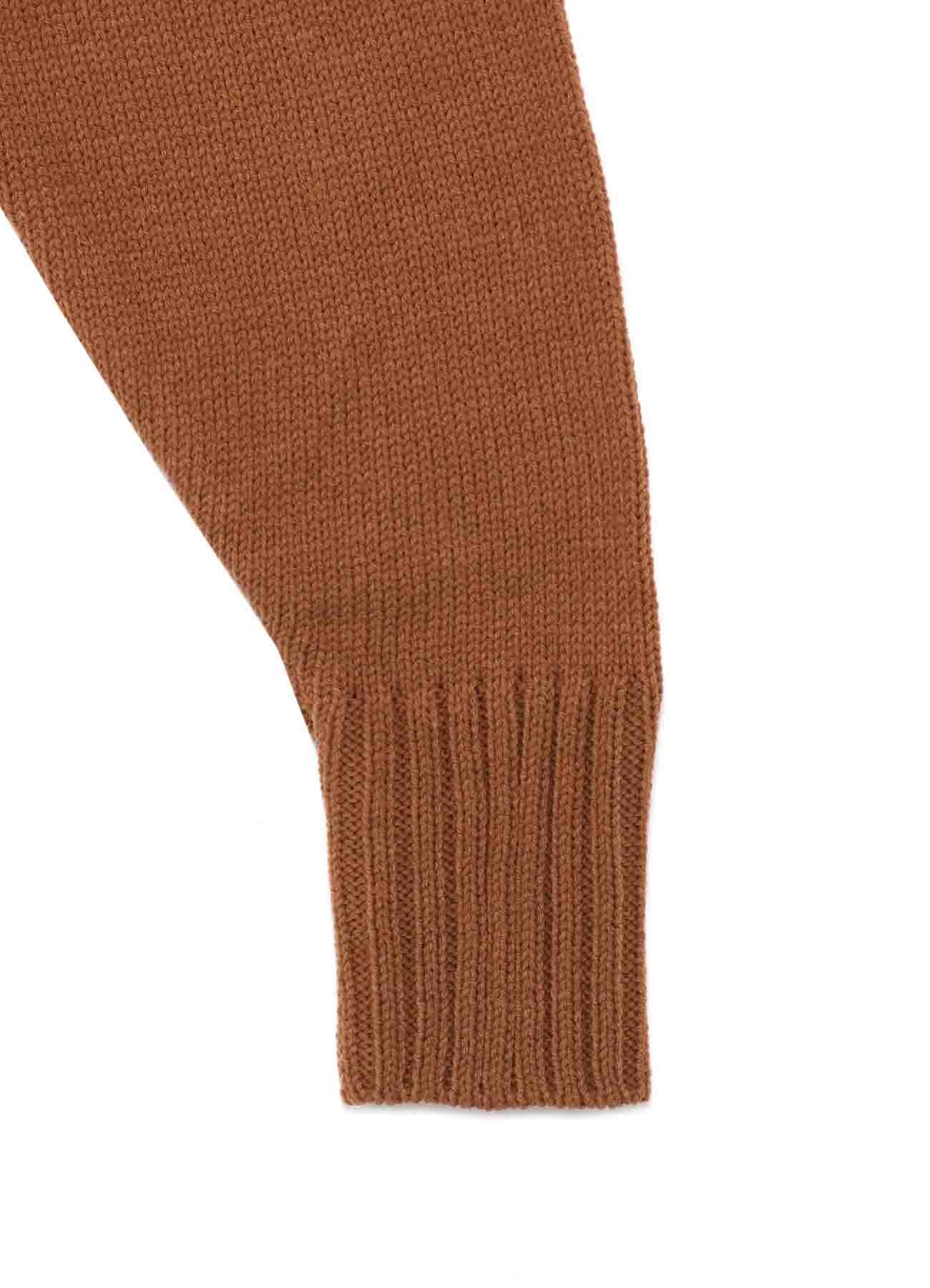 C/Capri Cord Slash Turtle Neck Knit