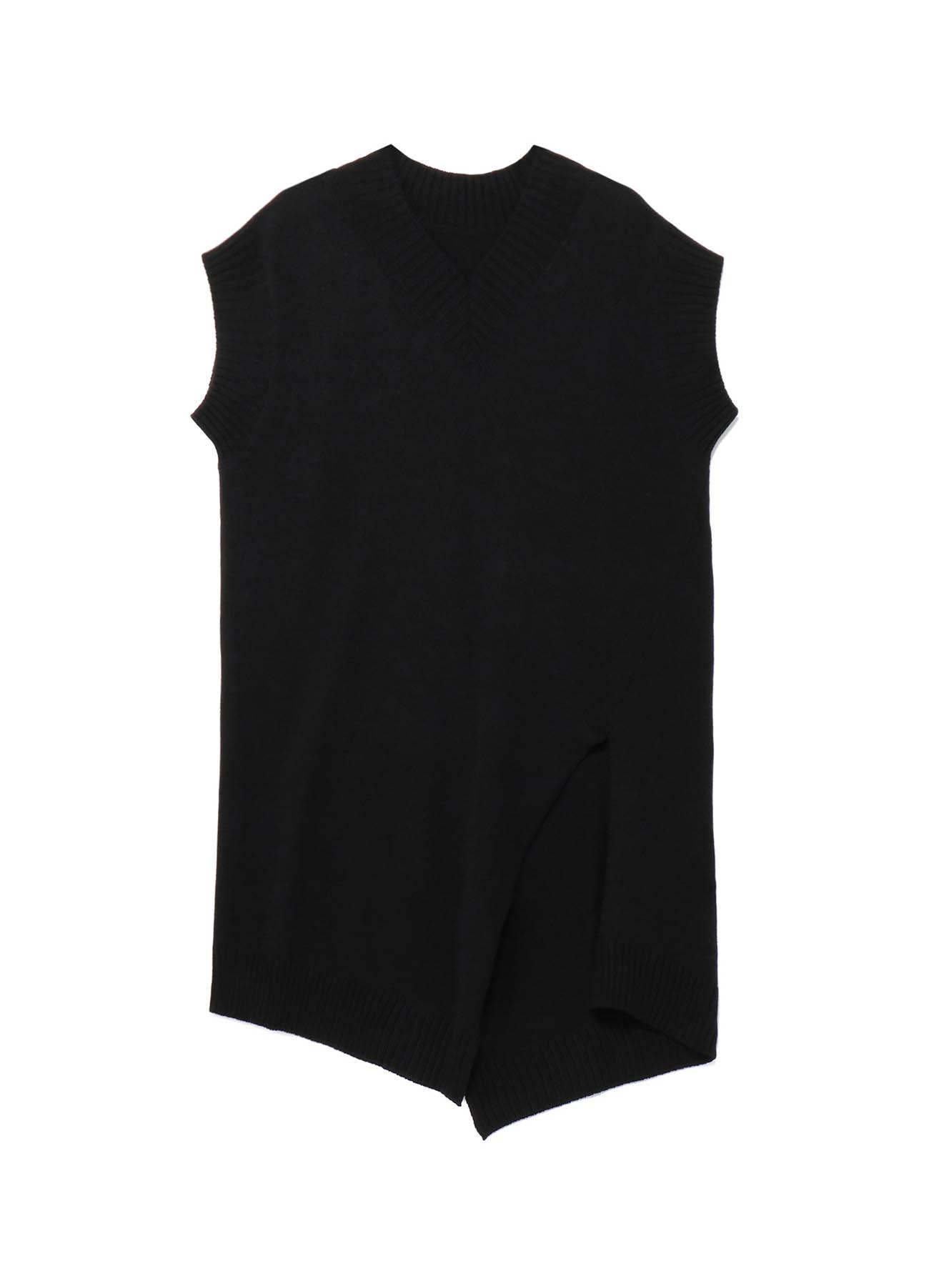 C/Capri Cord Slash Sleeveless Knit