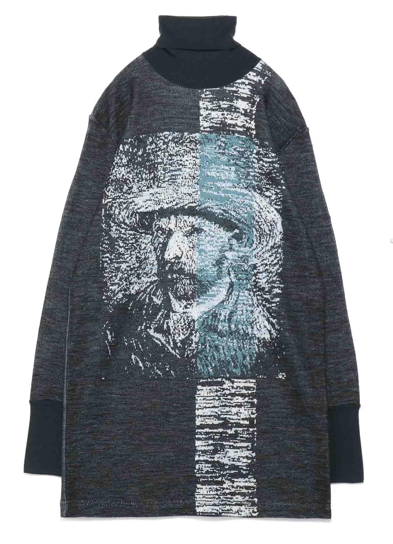 [Gogh]Wool/Acrylic Rib Long Knit
