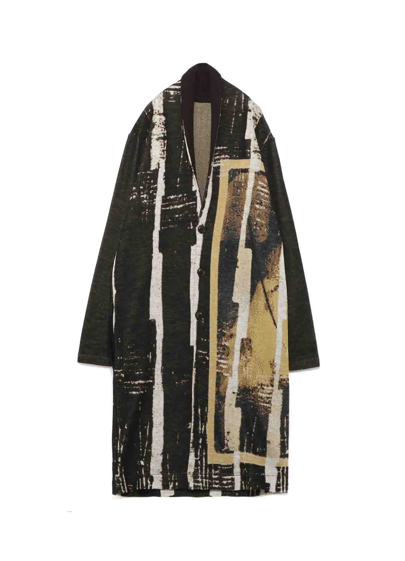 [Degas]Wool/Acrylic Long Gown Knit