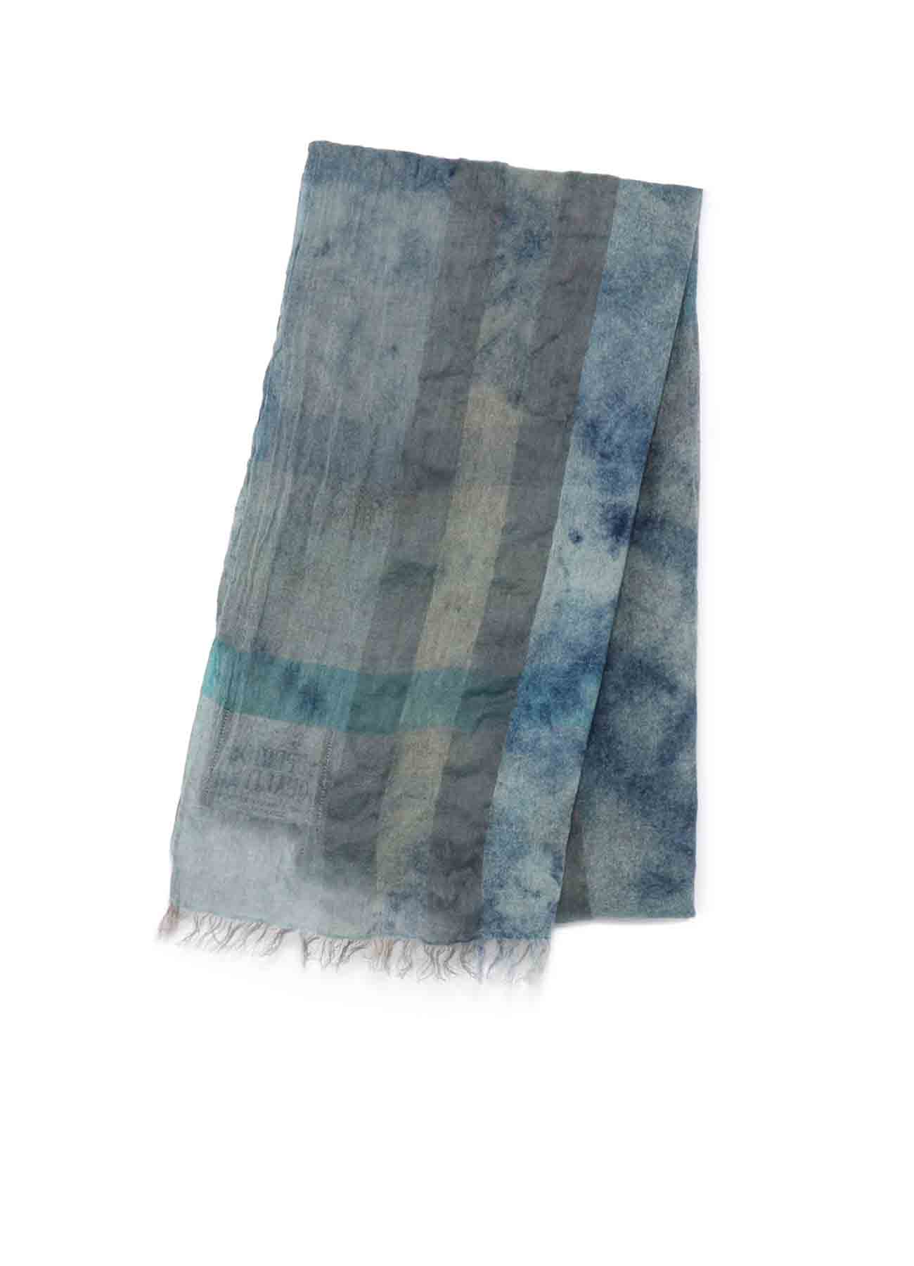 Indian Plaid Stole