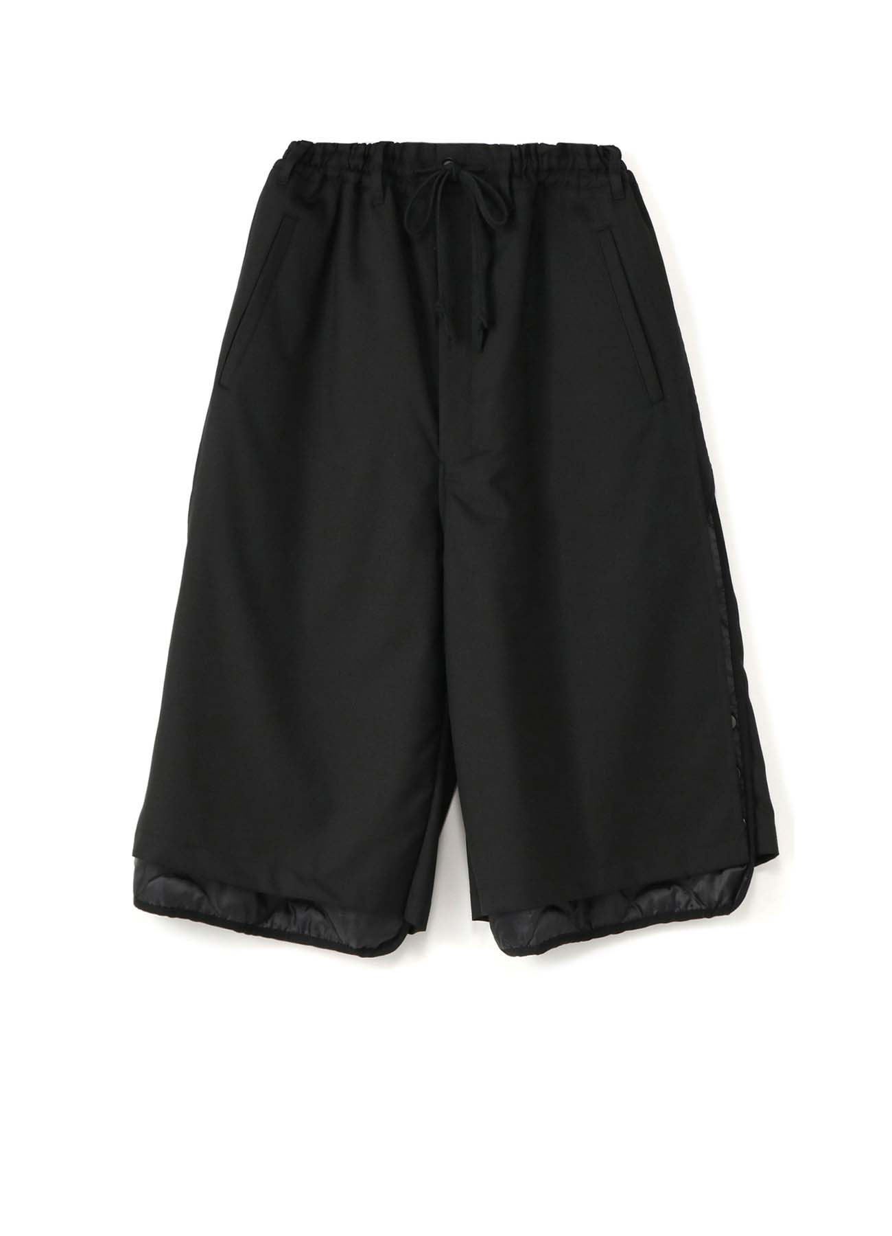 T/W  Gaberdine Quilted Short Pants