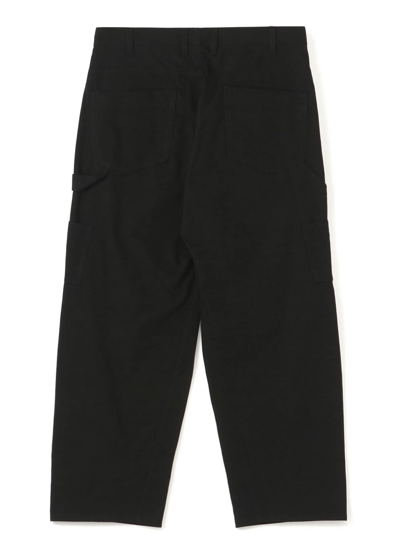 79A Cotton Canvas Slim Painter Pants
