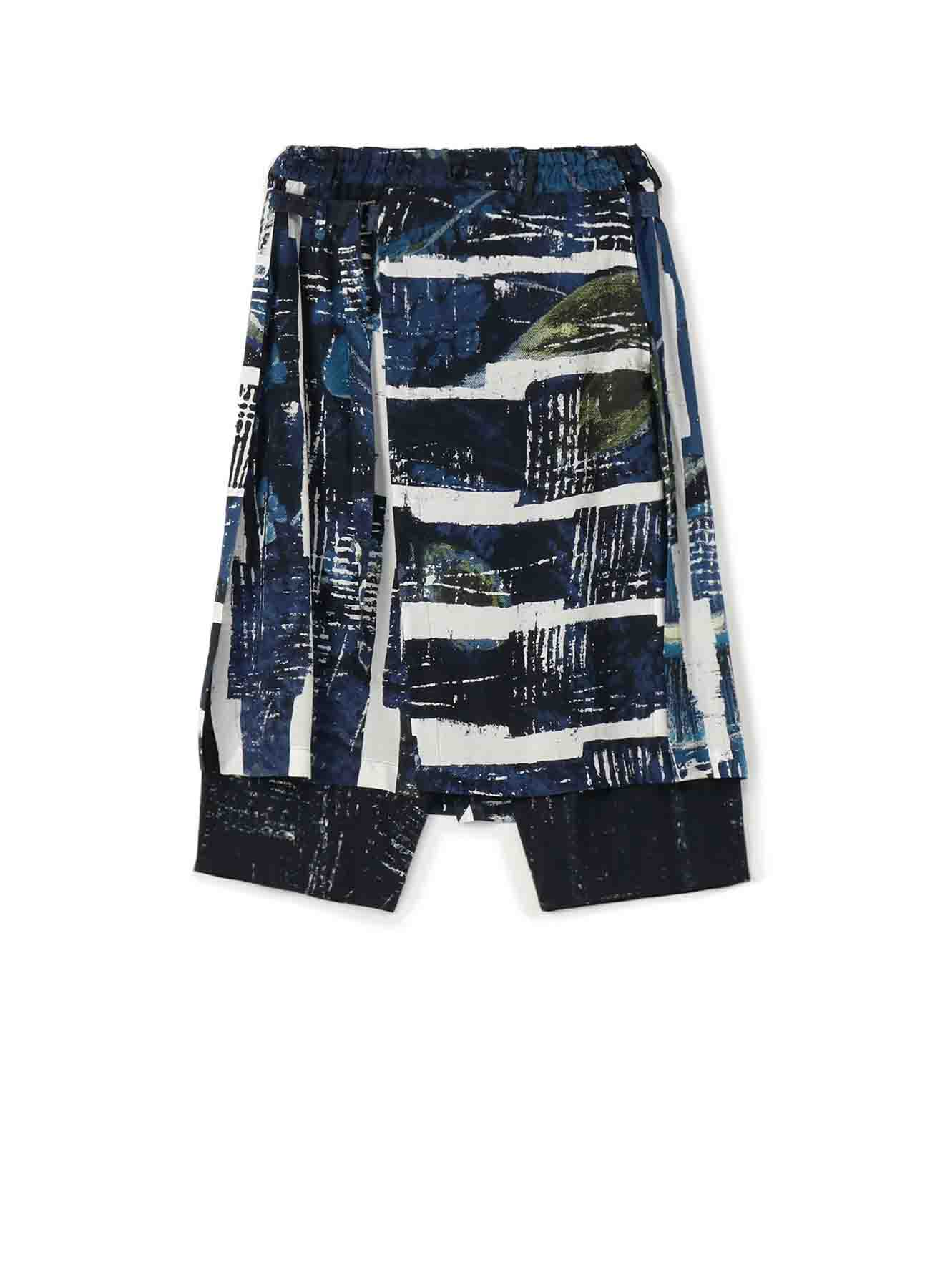 [Redon] Rayon Wrap Saruel Pants Type2