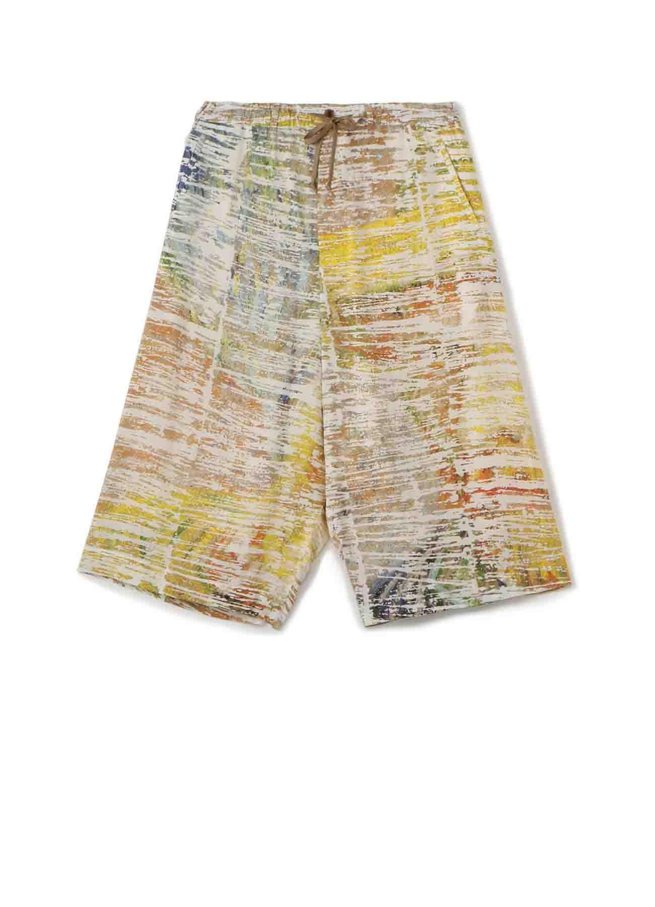 [Gogh] Rayon Gaucho Pants