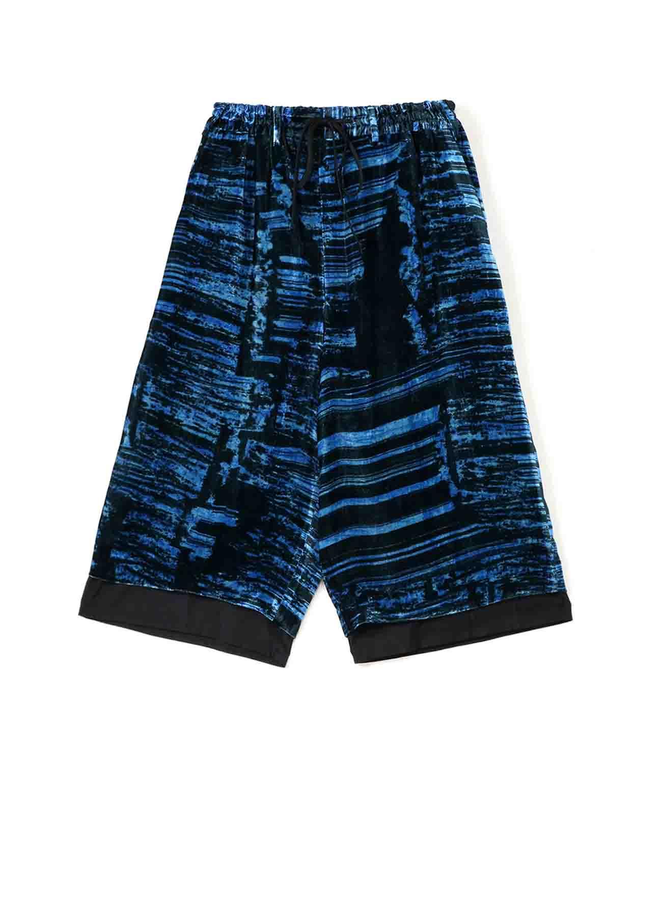 [Manet] Velvet Layered Short Pants