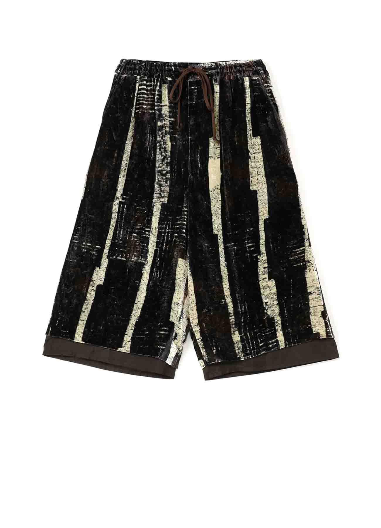 [Degas] Velvet Layered Short Pants