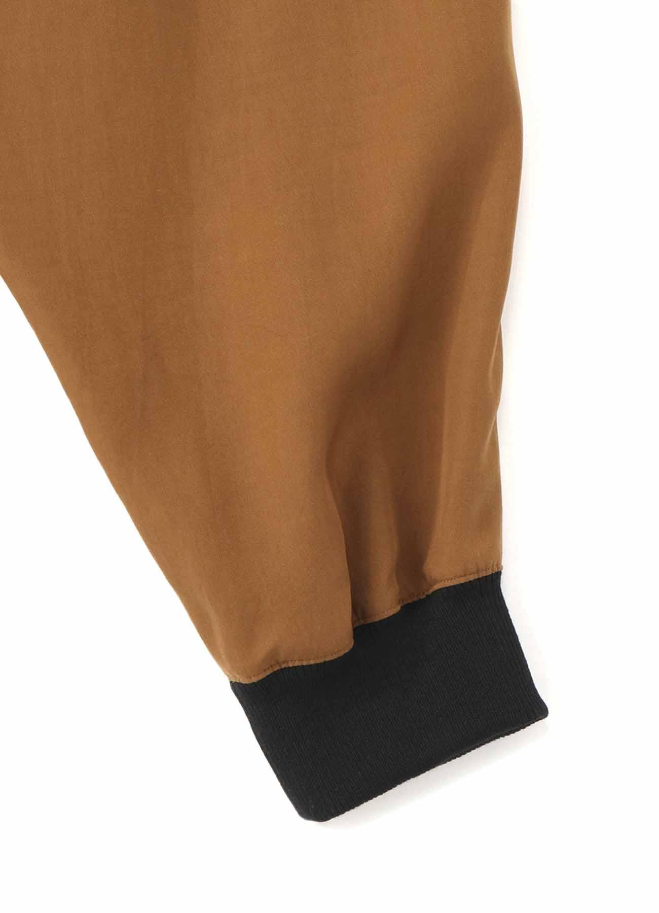 TE/Burberry Hem Rib Wrap Saruel Pants