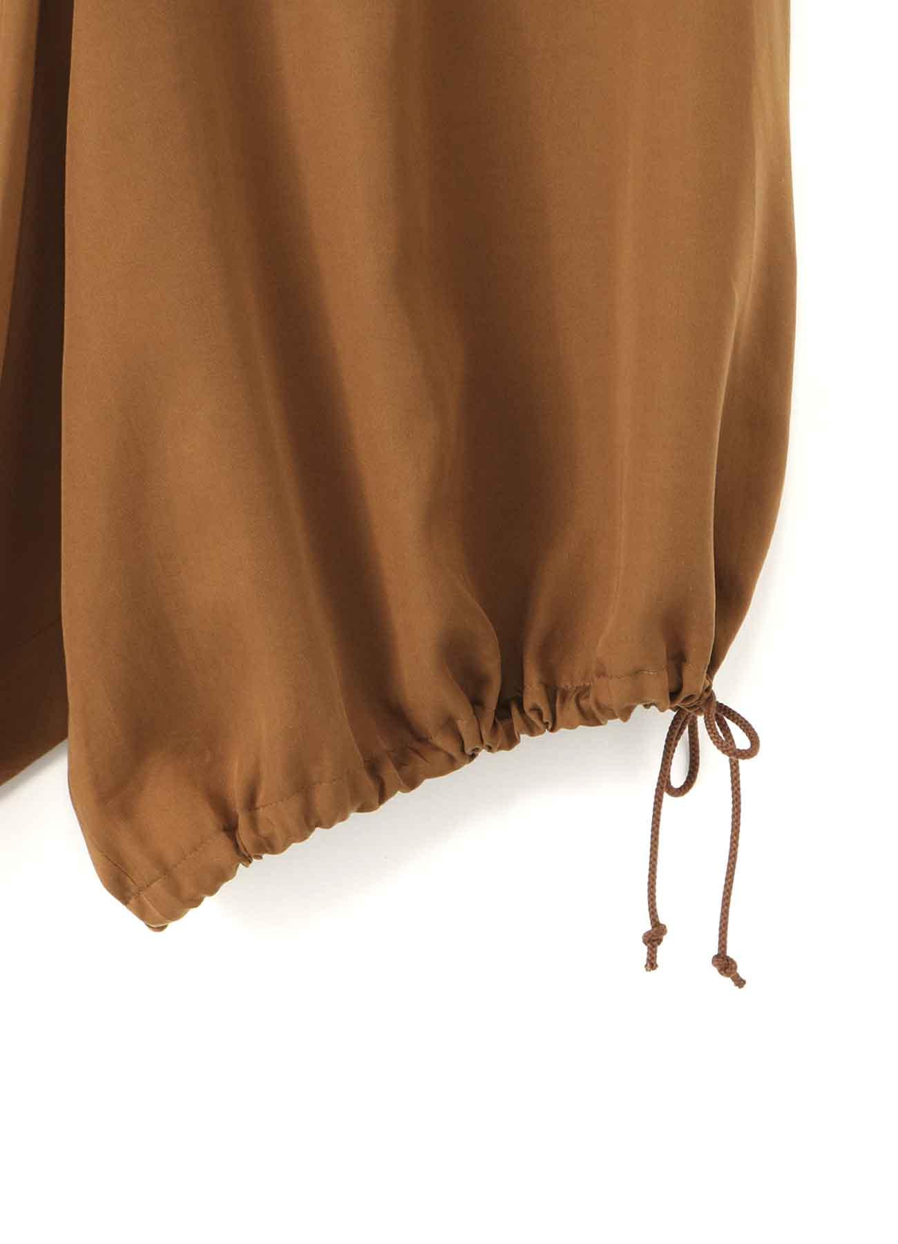 TE/Burberry Drape Short Balloon Pants