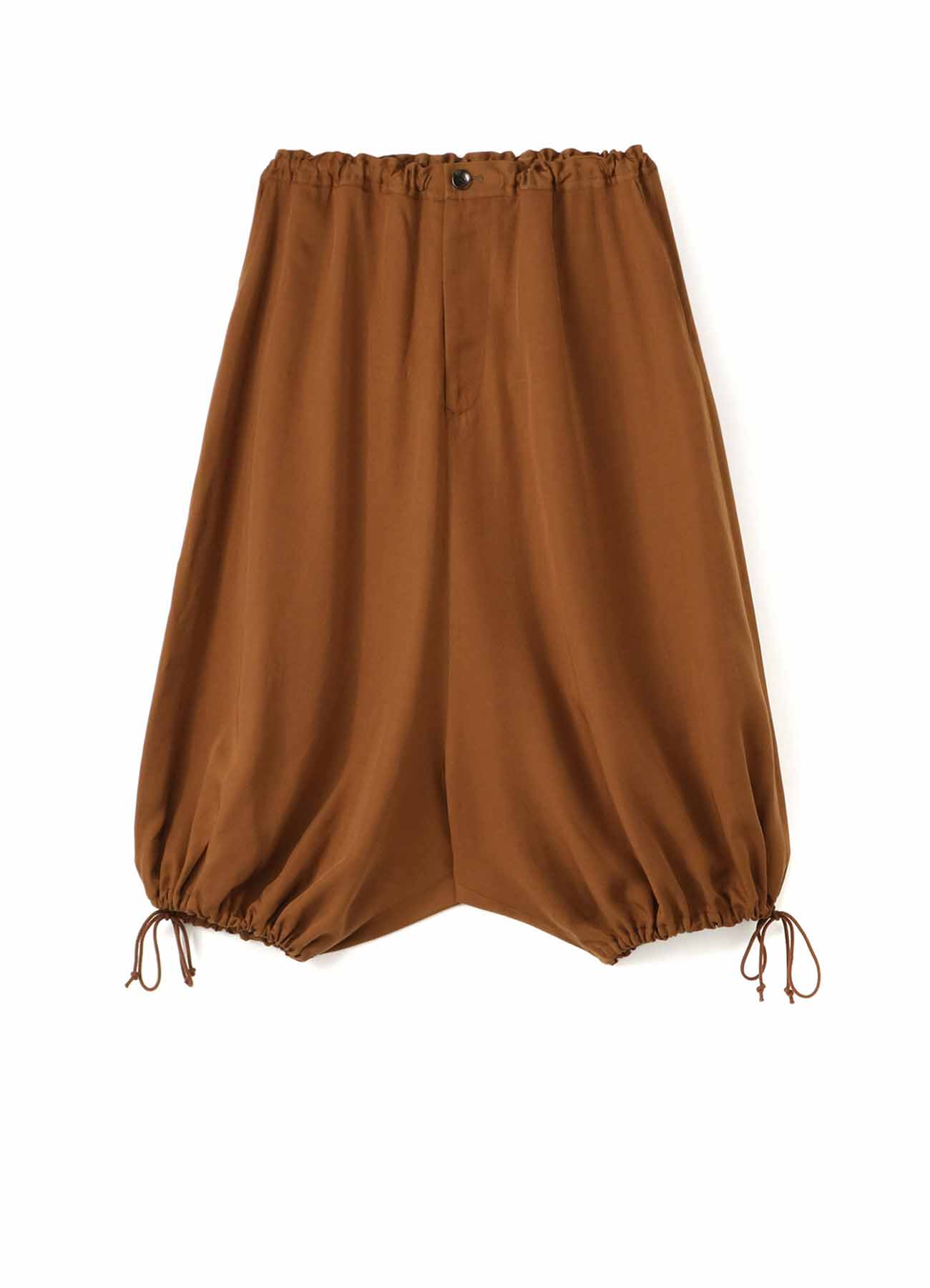 TE/Burberry Drape Short Balloon Pants
