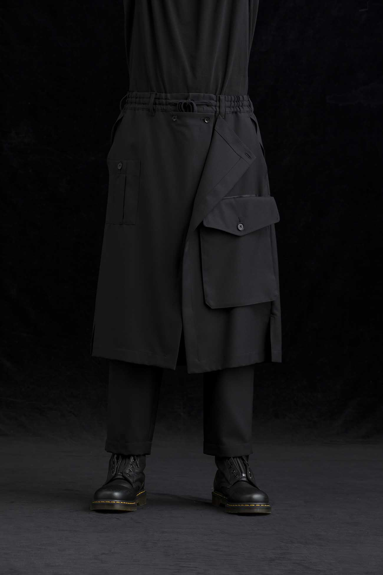 T/W Gabardine Tape Wrap Pants