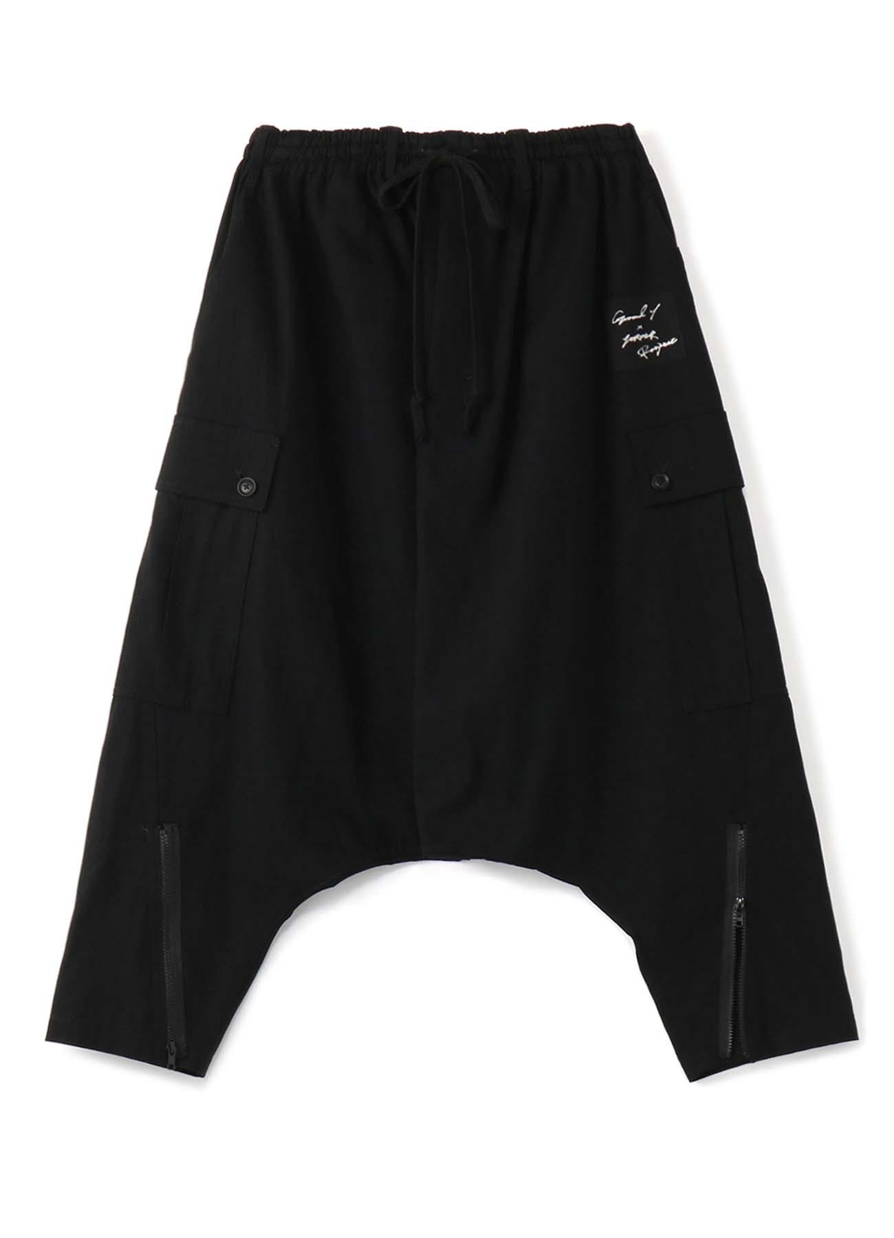 <Ground Y×7ORDER Collaboration Project>7.5oz Black Denim Saruel Pants