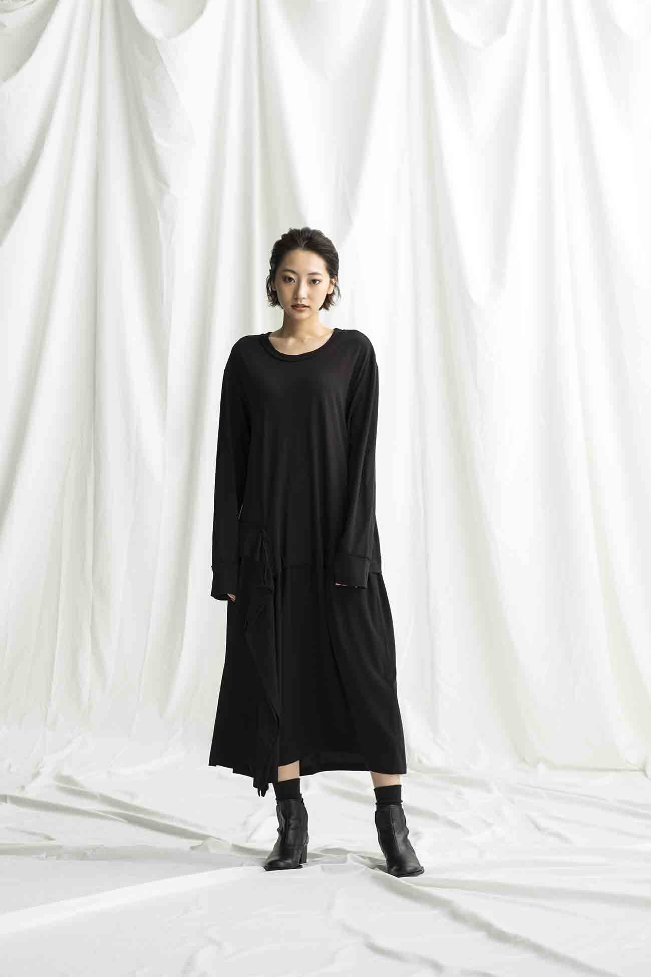 Vintage Decyne/Cotton No Fixing Docking T Long Dress