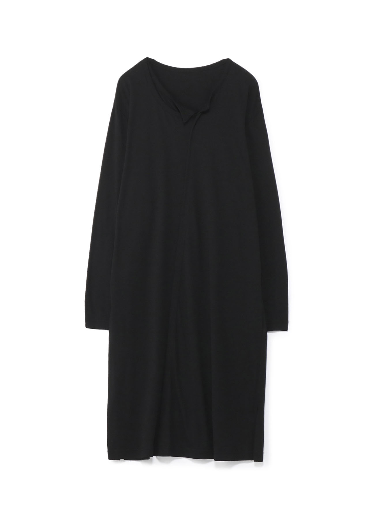 Modal Cotton Double Collar Long T Long Sleeves