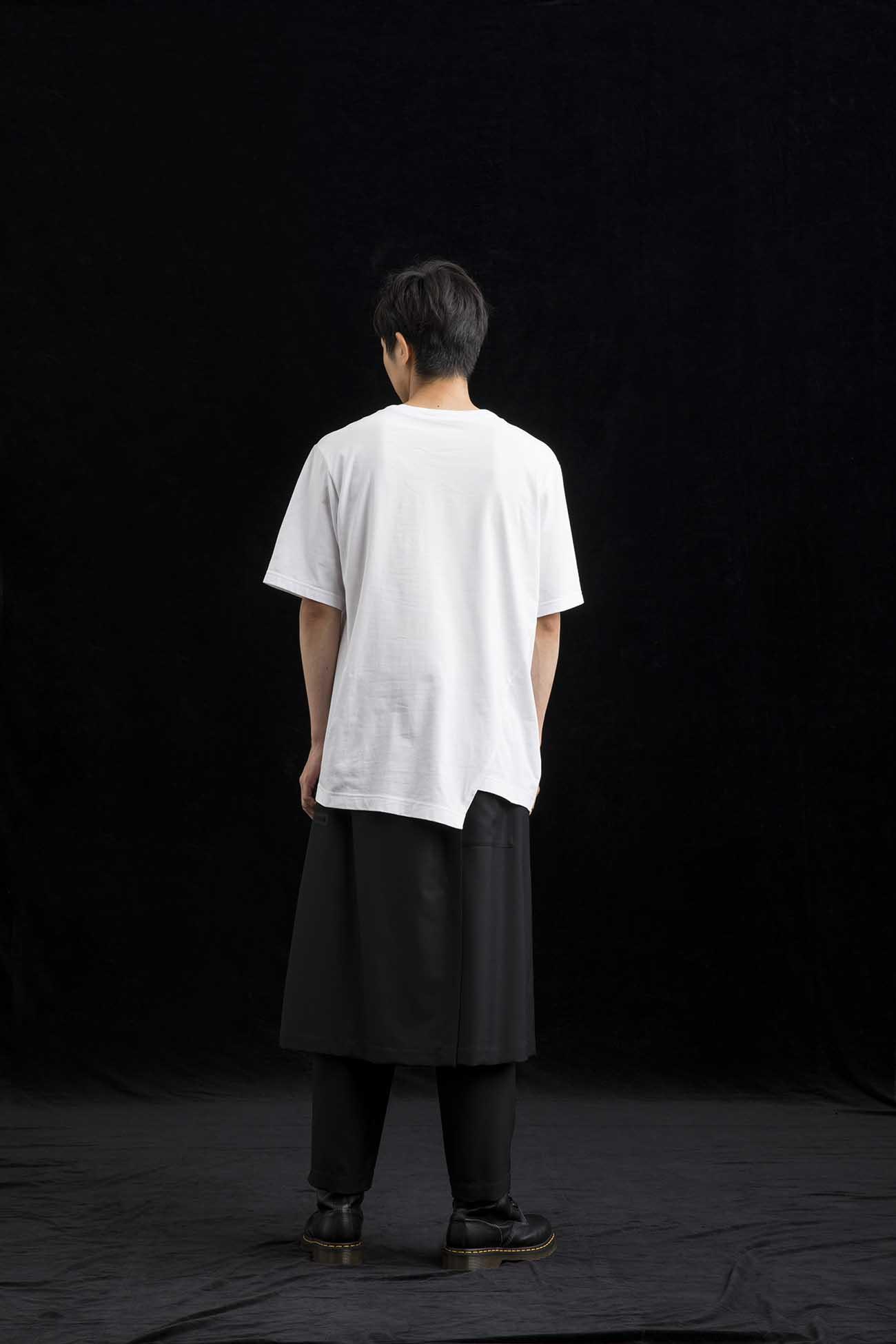 Cotton Jersey V Neck T Short Sleeves