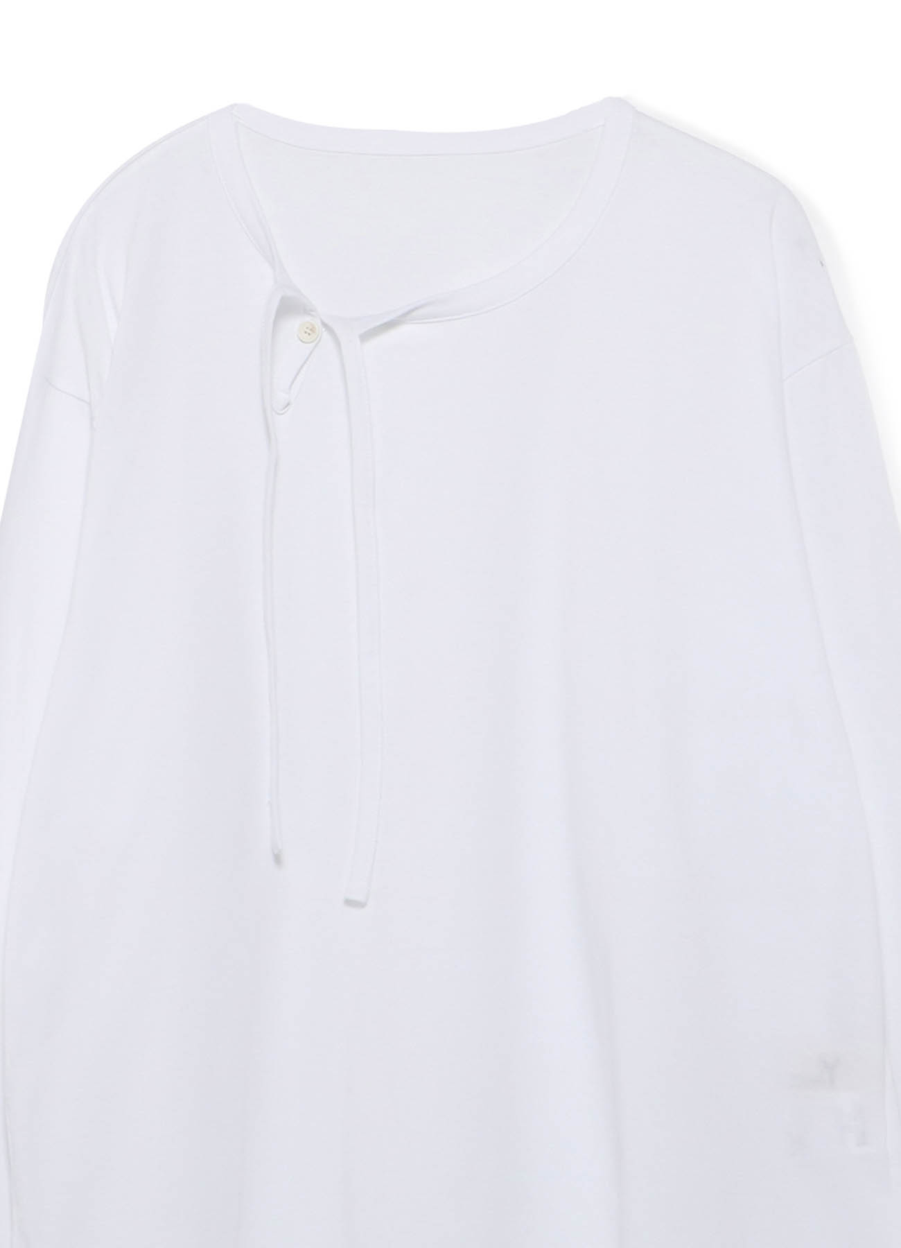 Cotton Jersey Piping T Long Sleeves