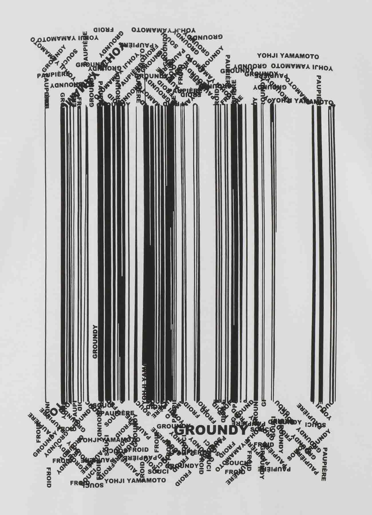 Random Logo Jersey Basic Big T Type A