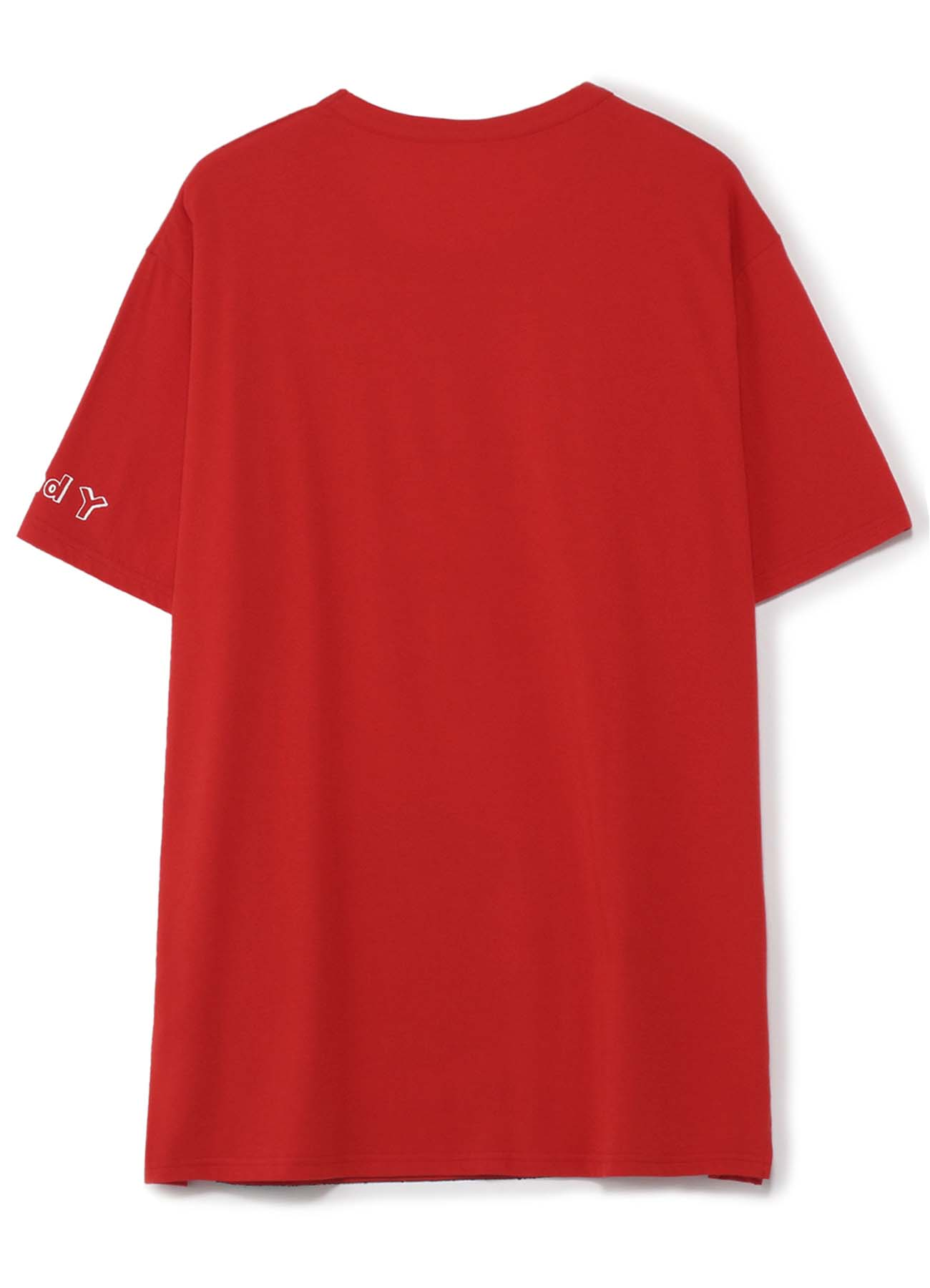【Ground Y×Mai Fukagawa Collection】30/-Combed Cotton Jersey Cut Sew [カラス]