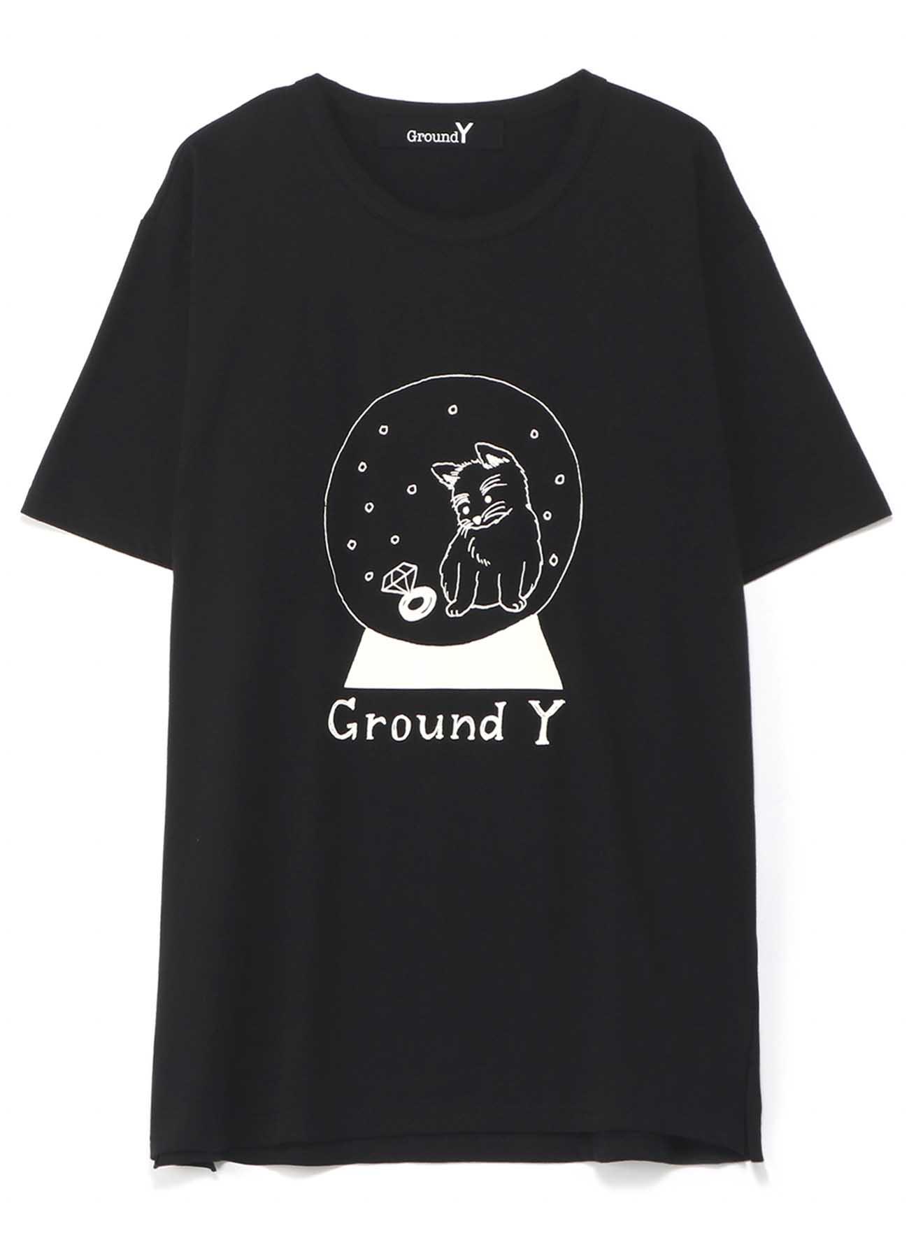 【Ground Y×Mai Fukagawa Collection】30/-Combed Cotton Jersey Cut Sew [スノードーム]