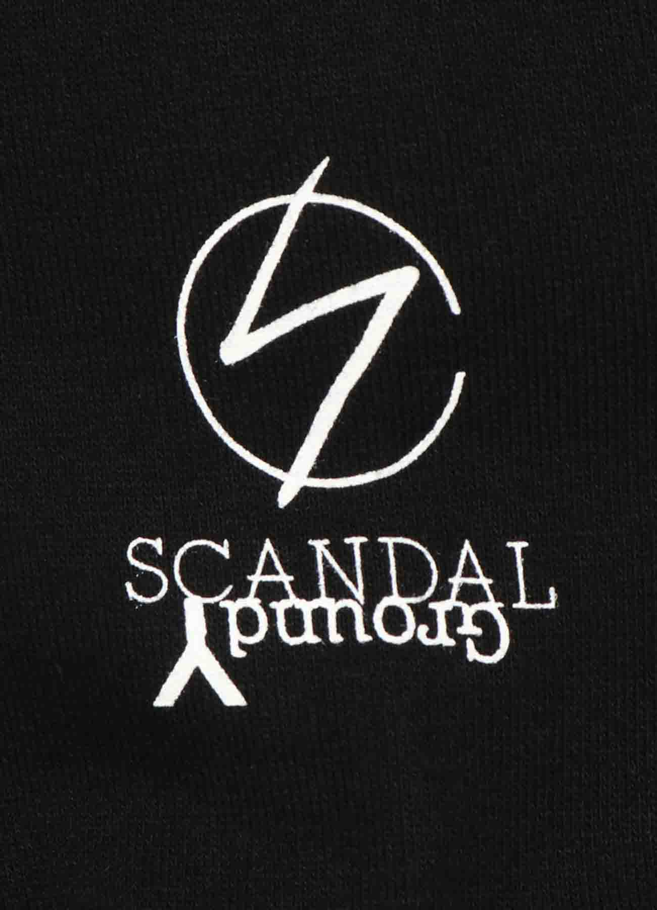 Ground Y×SCANDAL Collaboration 【HARUNA】Hoodie
