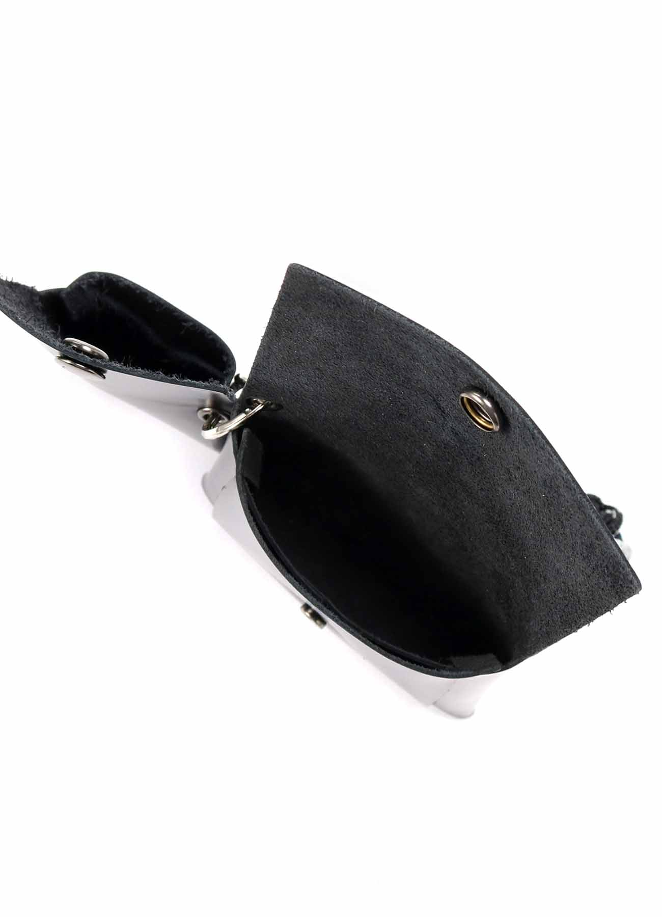 Kip Leather Double Coin Case