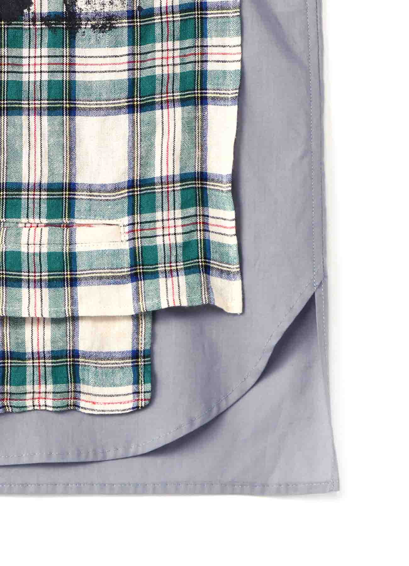 Sandwich Shirt Short-Length