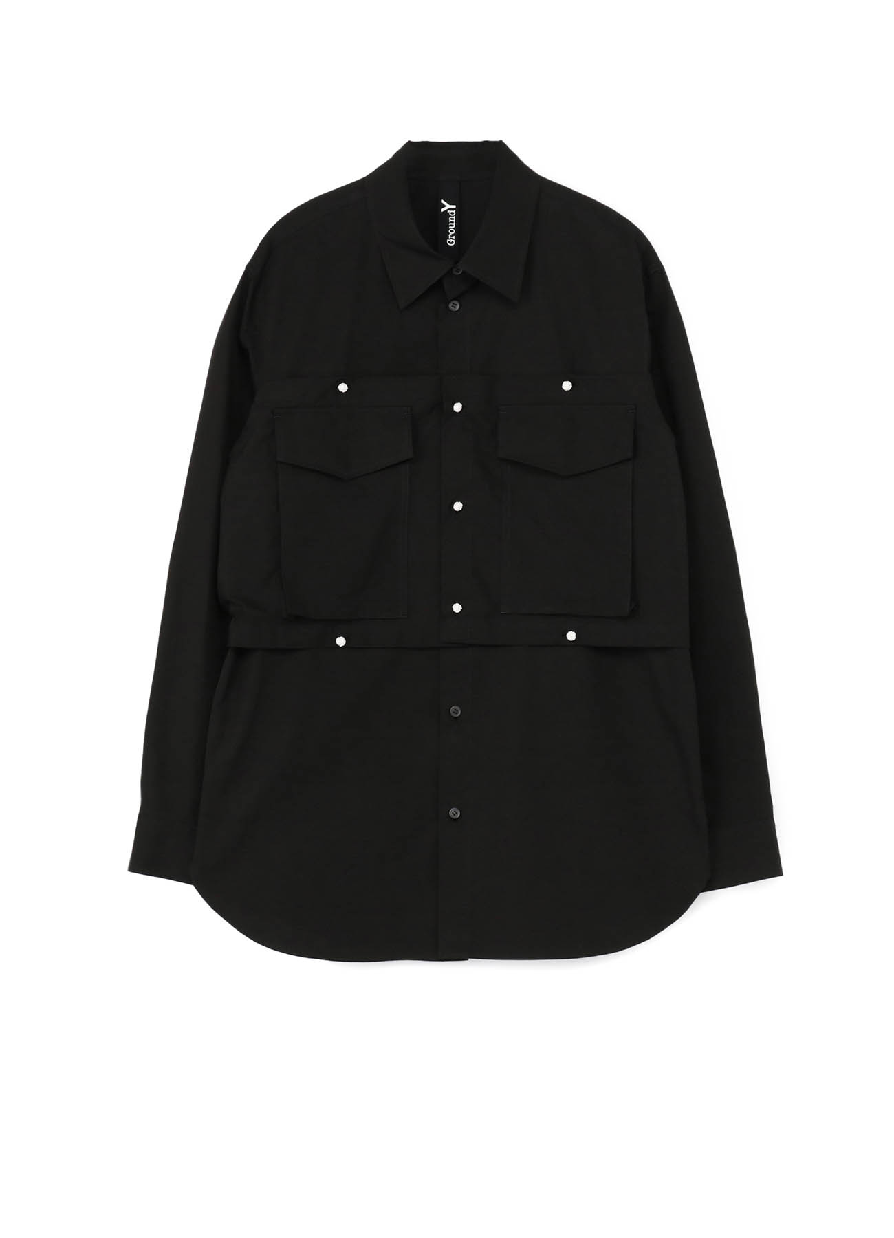 100/2 Cotton Broad Patch Pocket Shirt