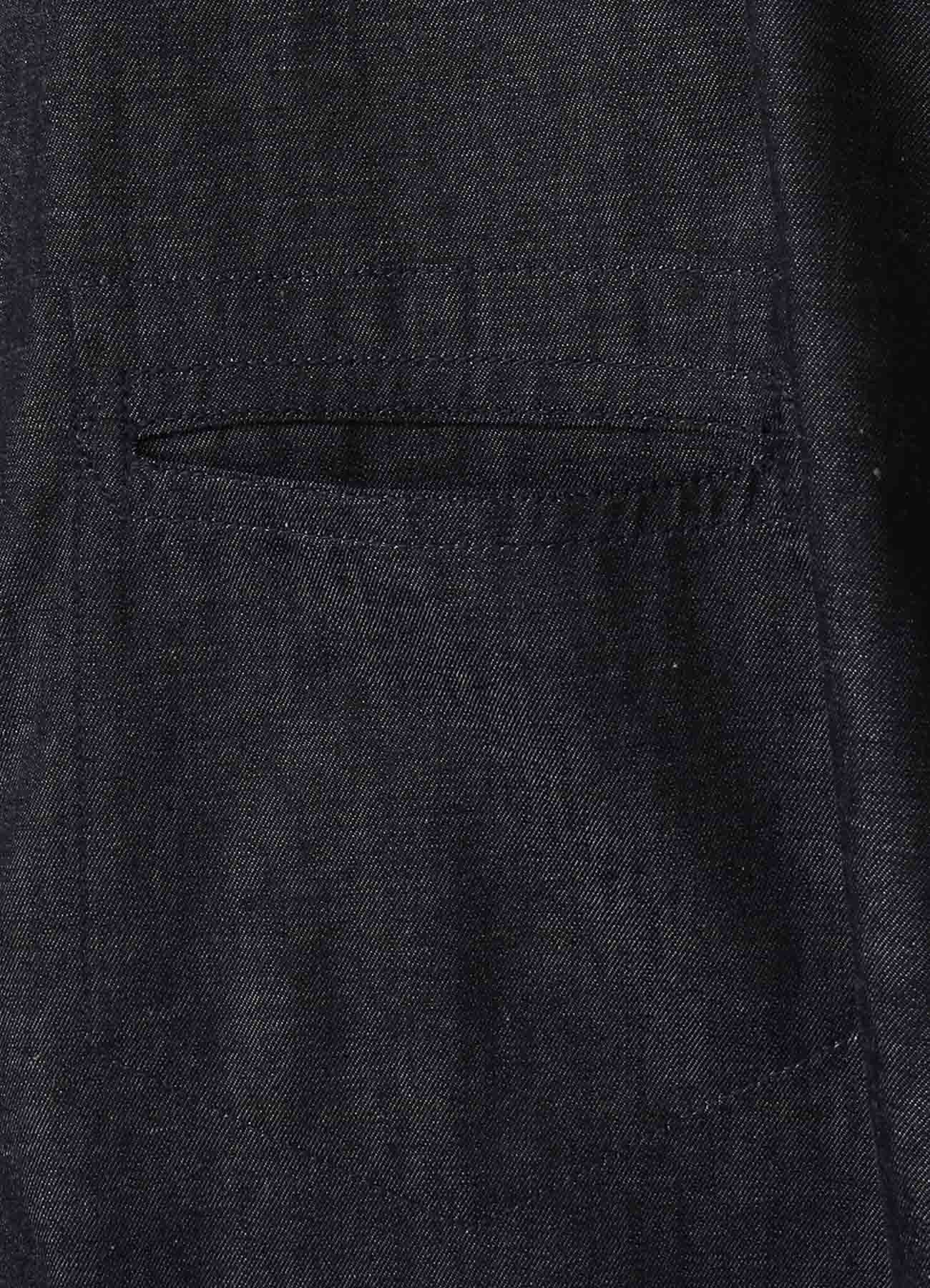 6oz Denim Dolman Short Sleeves Big Shirt